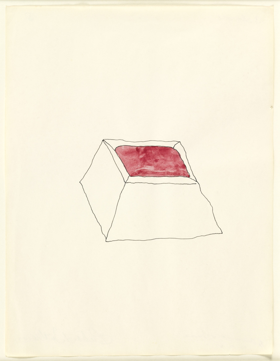 Richard Tuttle. Untitled. 1971