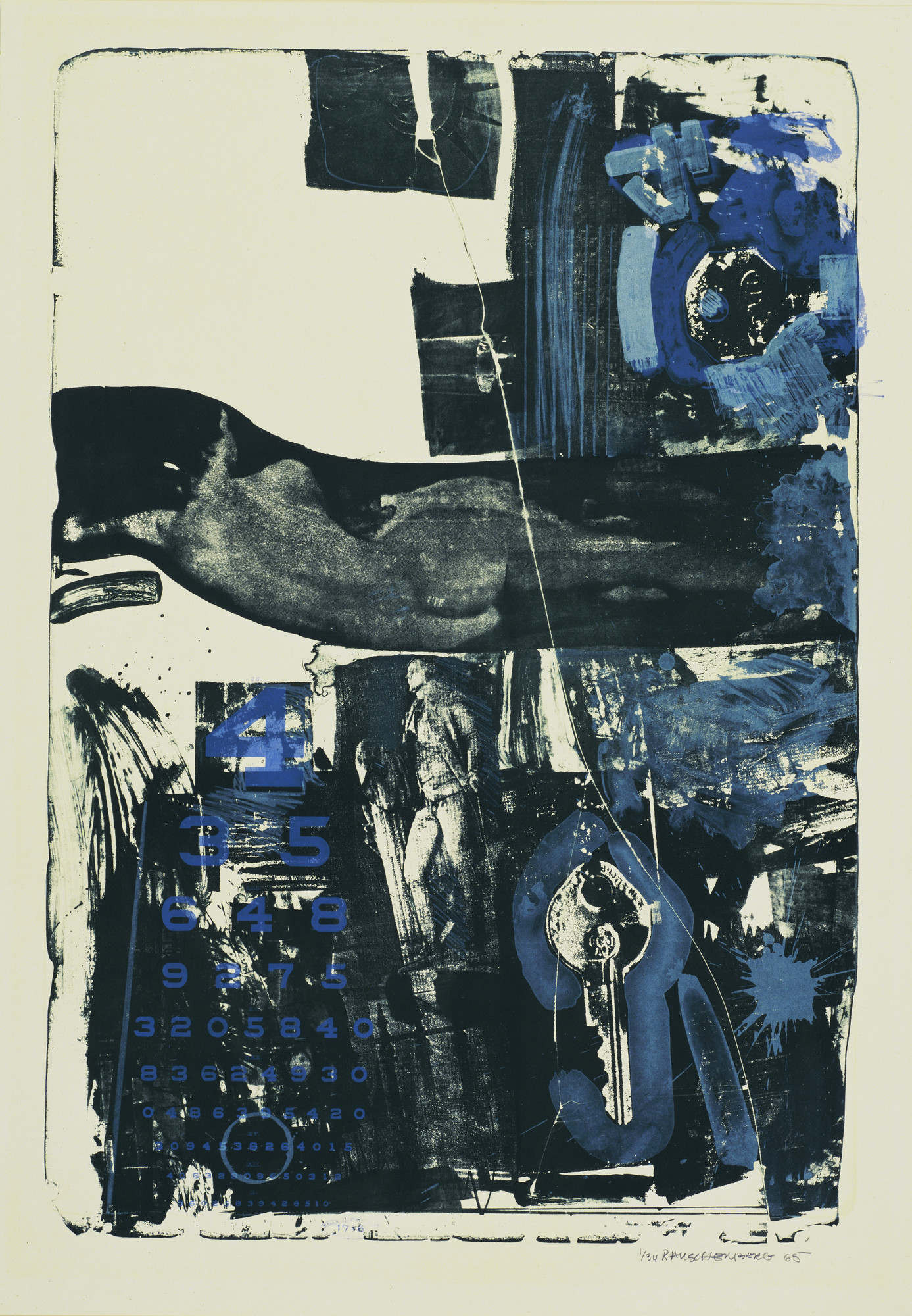 Robert Rauschenberg. Breakthrough II. 1965