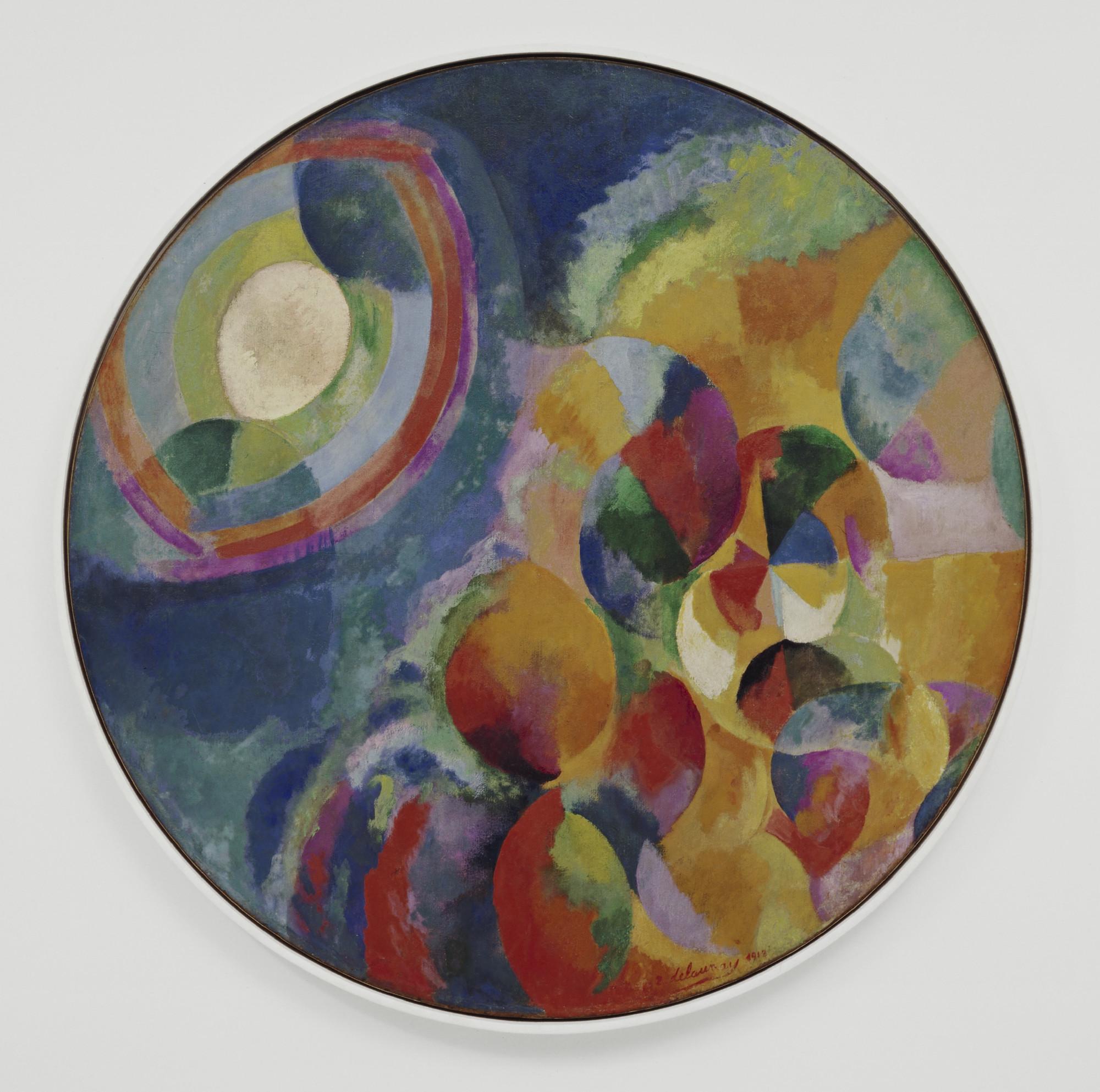 Robert Delaunay Simultaneous Contrasts Sun And Moon Paris 1913
