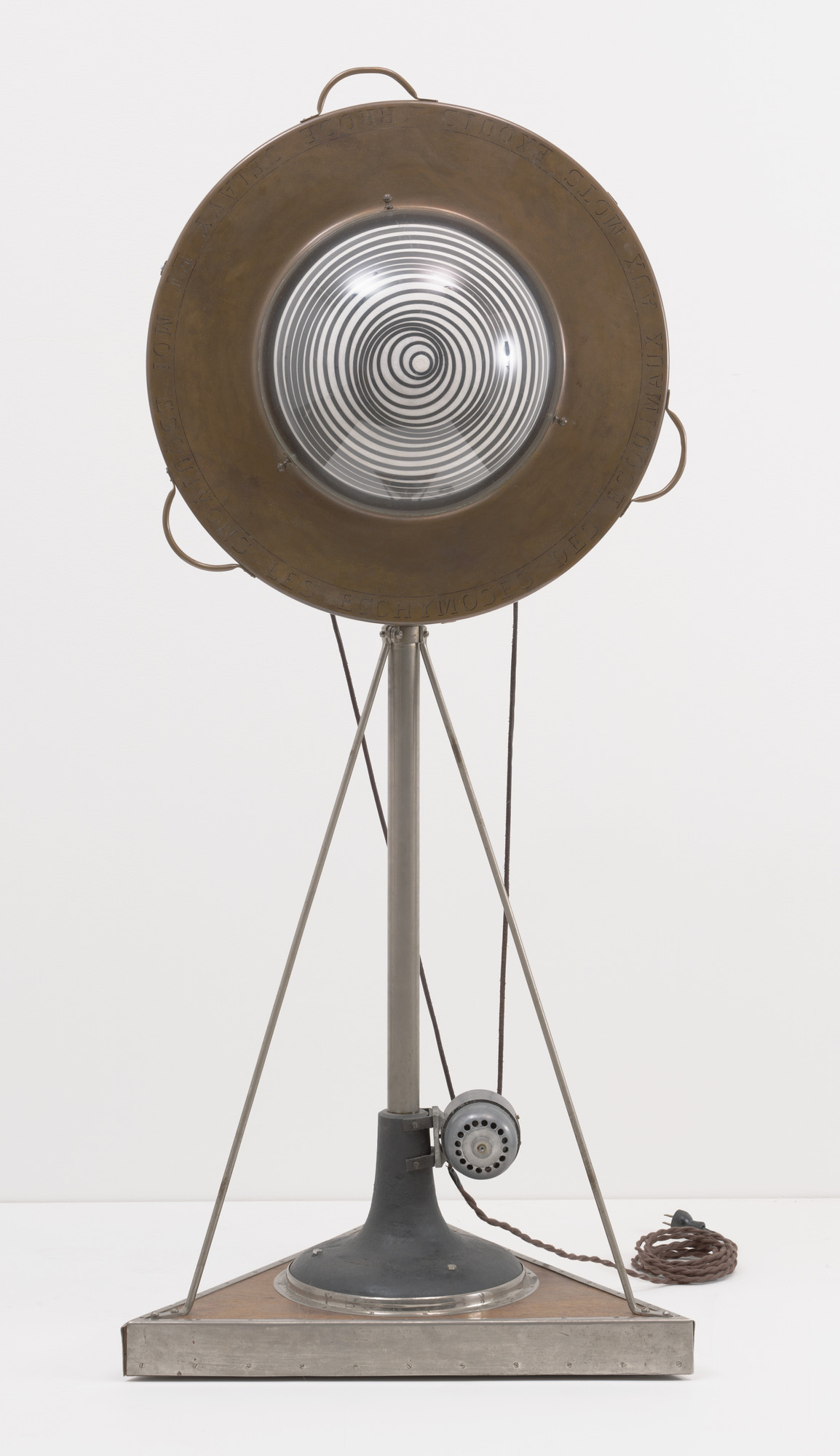 Marcel Duchamp. Rotary Demisphere (Precision Optics). Paris, 1925