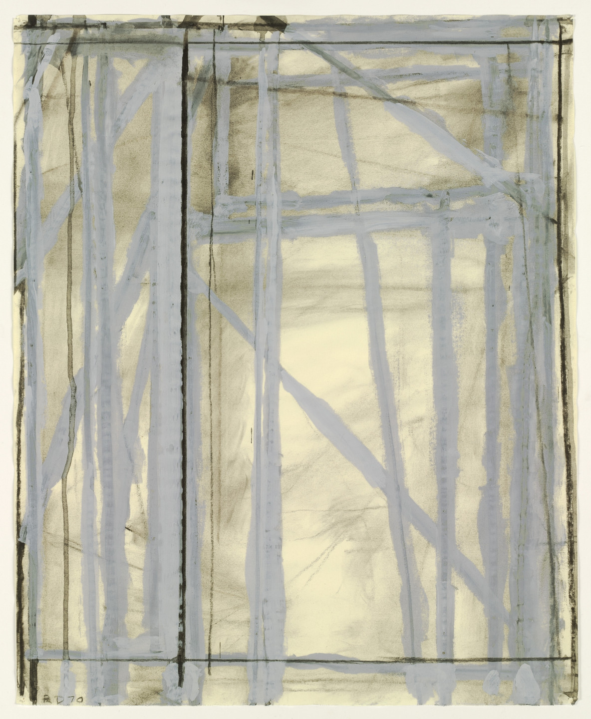 Richard Diebenkorn. Untitled. 1970