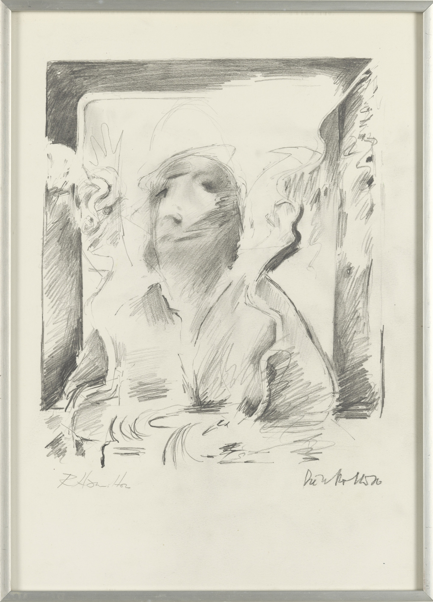 Dieter Roth, Richard Hamilton. Portrait of the Artist by Fr. B. by D. R. by R. H.. 1976