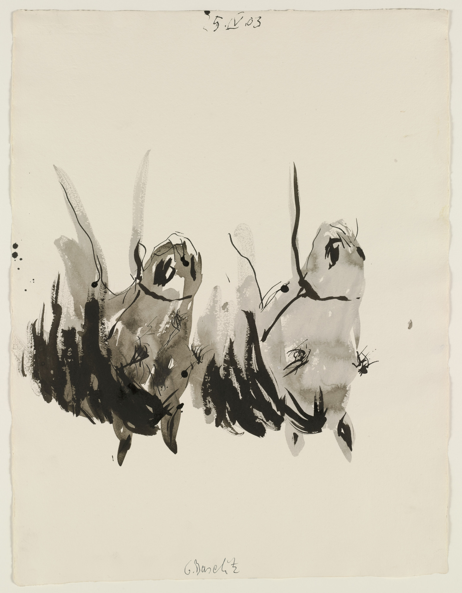 Georg Baselitz. Untitled. 2003