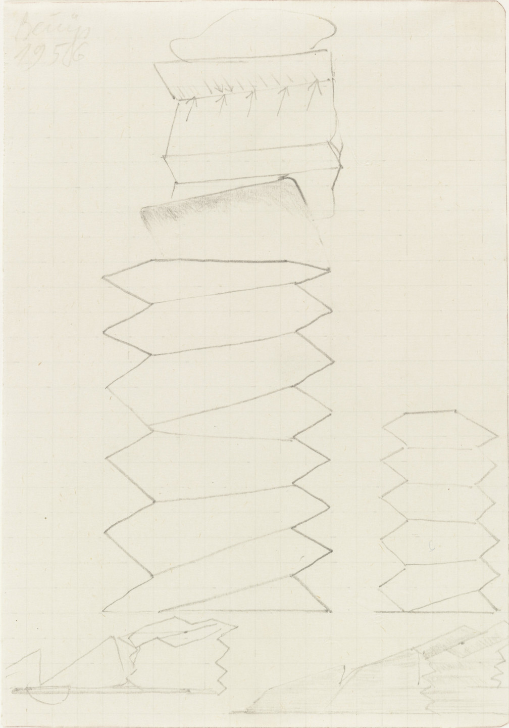 Joseph Beuys. Untitled. 1956