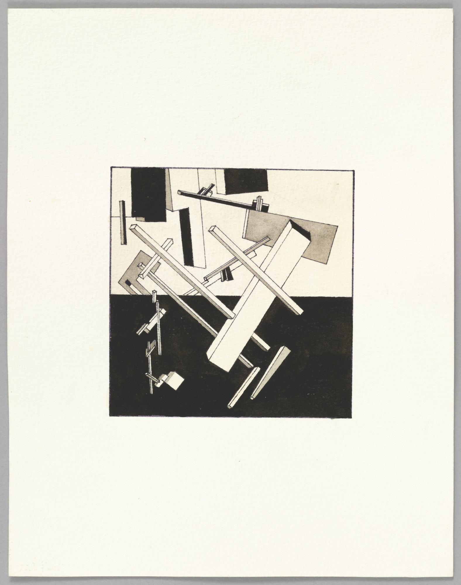 Sherrie Levine. After El Lissitzky. 1984