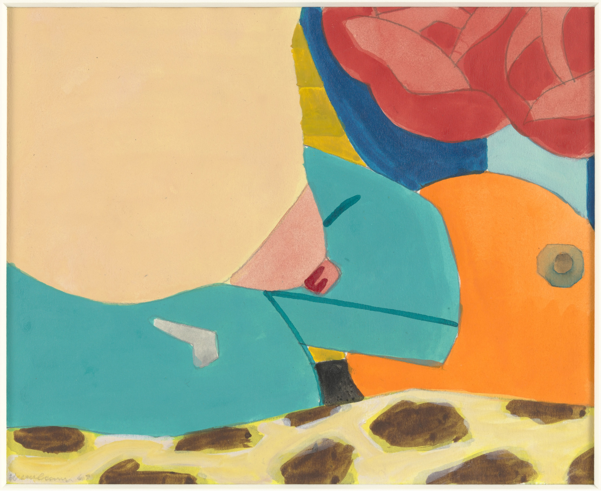 Tom Wesselmann. Study for Bedroom Painting #25. 1967
