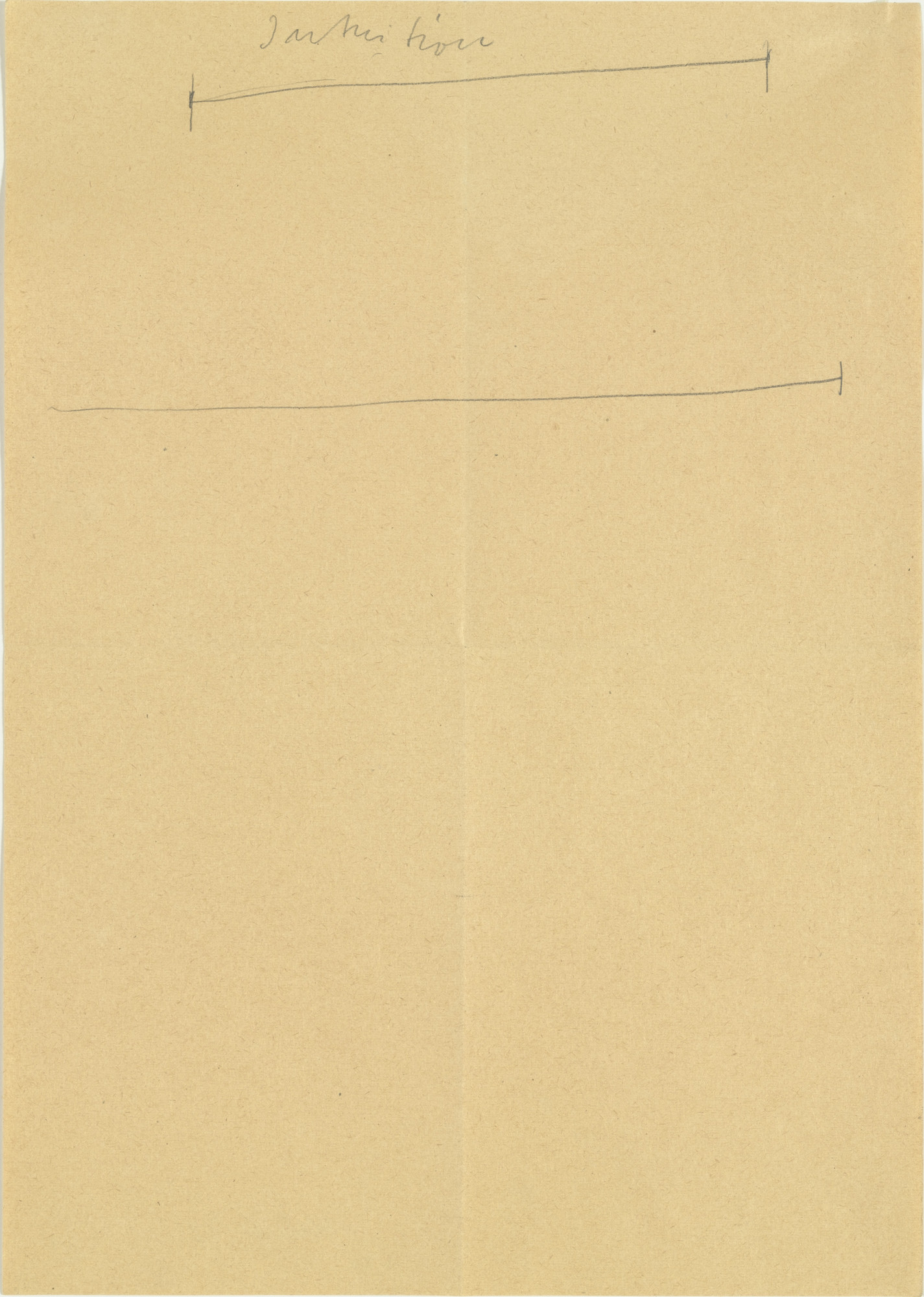 Joseph Beuys. Intuition. 1953