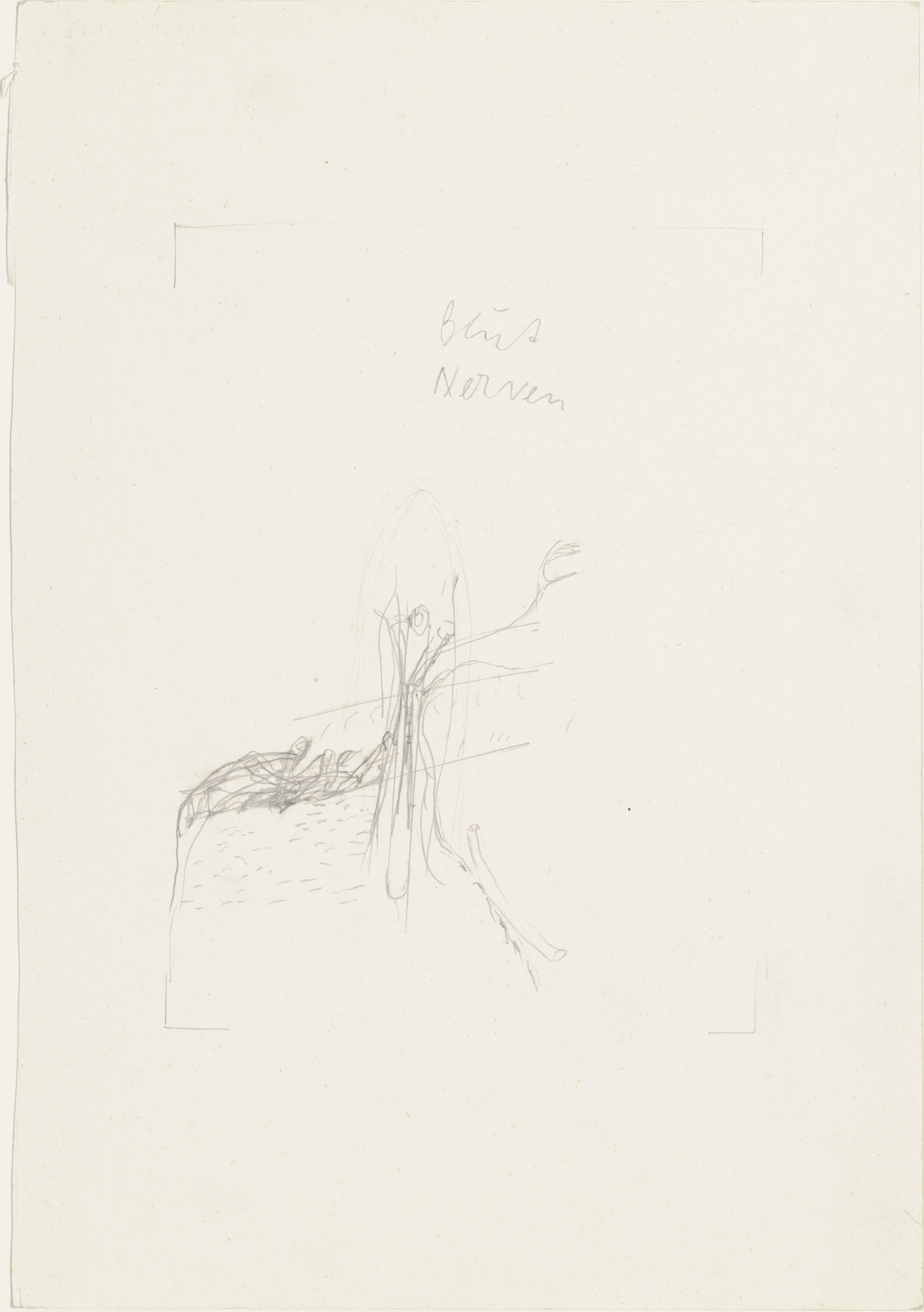 Joseph Beuys. Blood/Nerves (Blut/Nerven). 1974