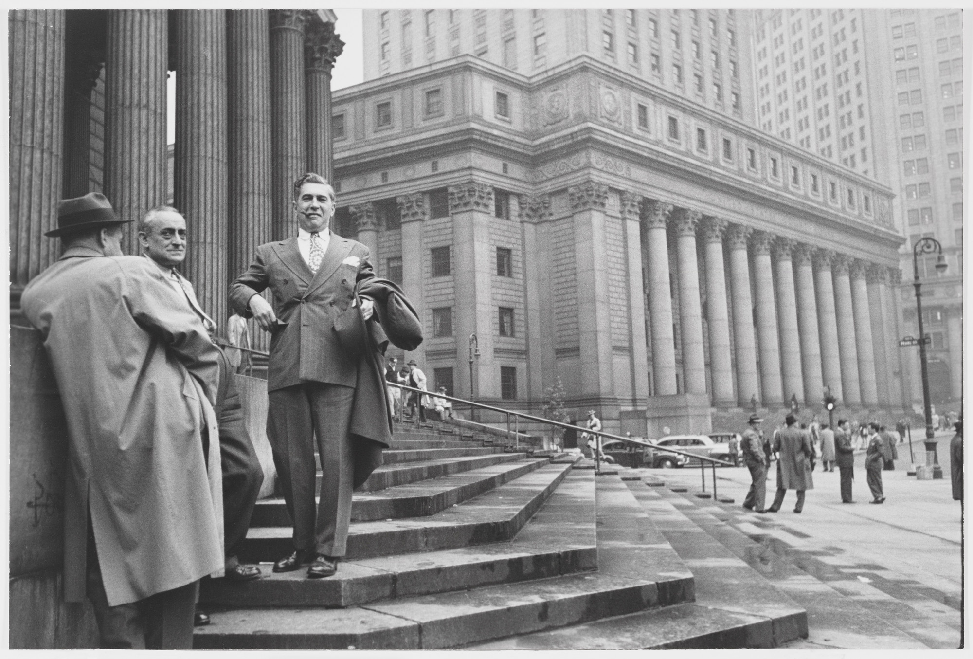 Henri Cartier-Bresson. Near the Hall of Records, New York. 1947