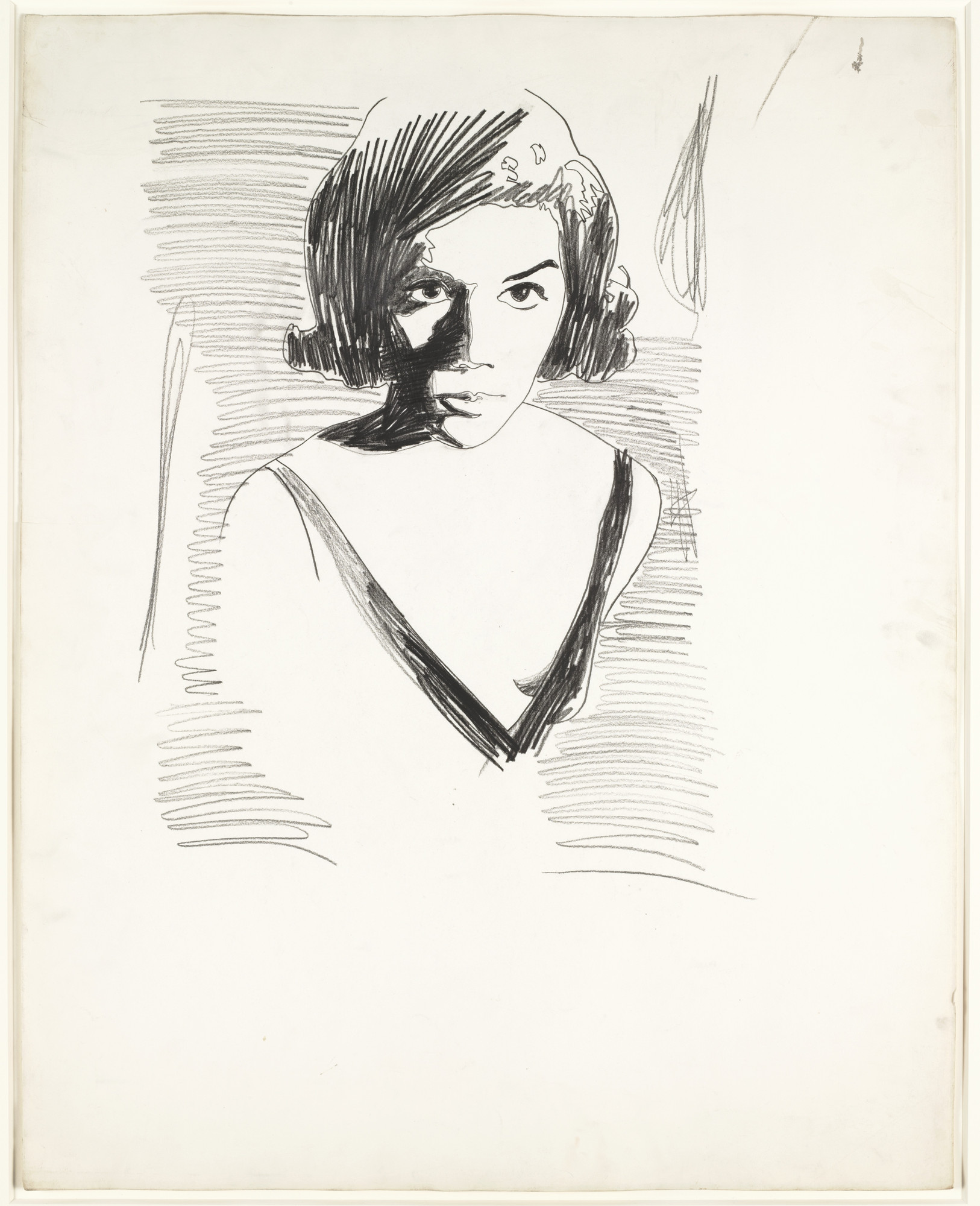 Andy Warhol. Portrait of a Woman. (1962)