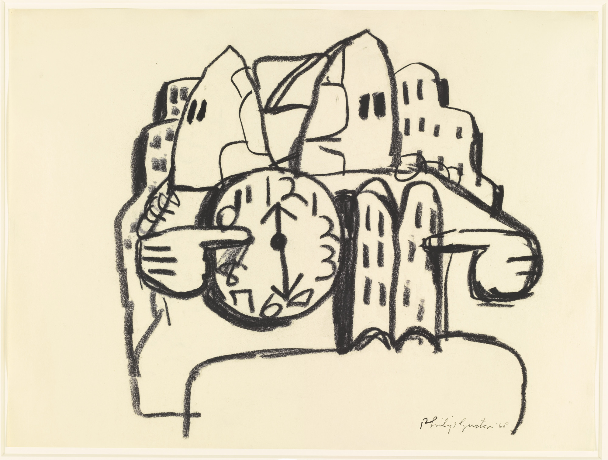 Philip Guston. Untitled. 1968