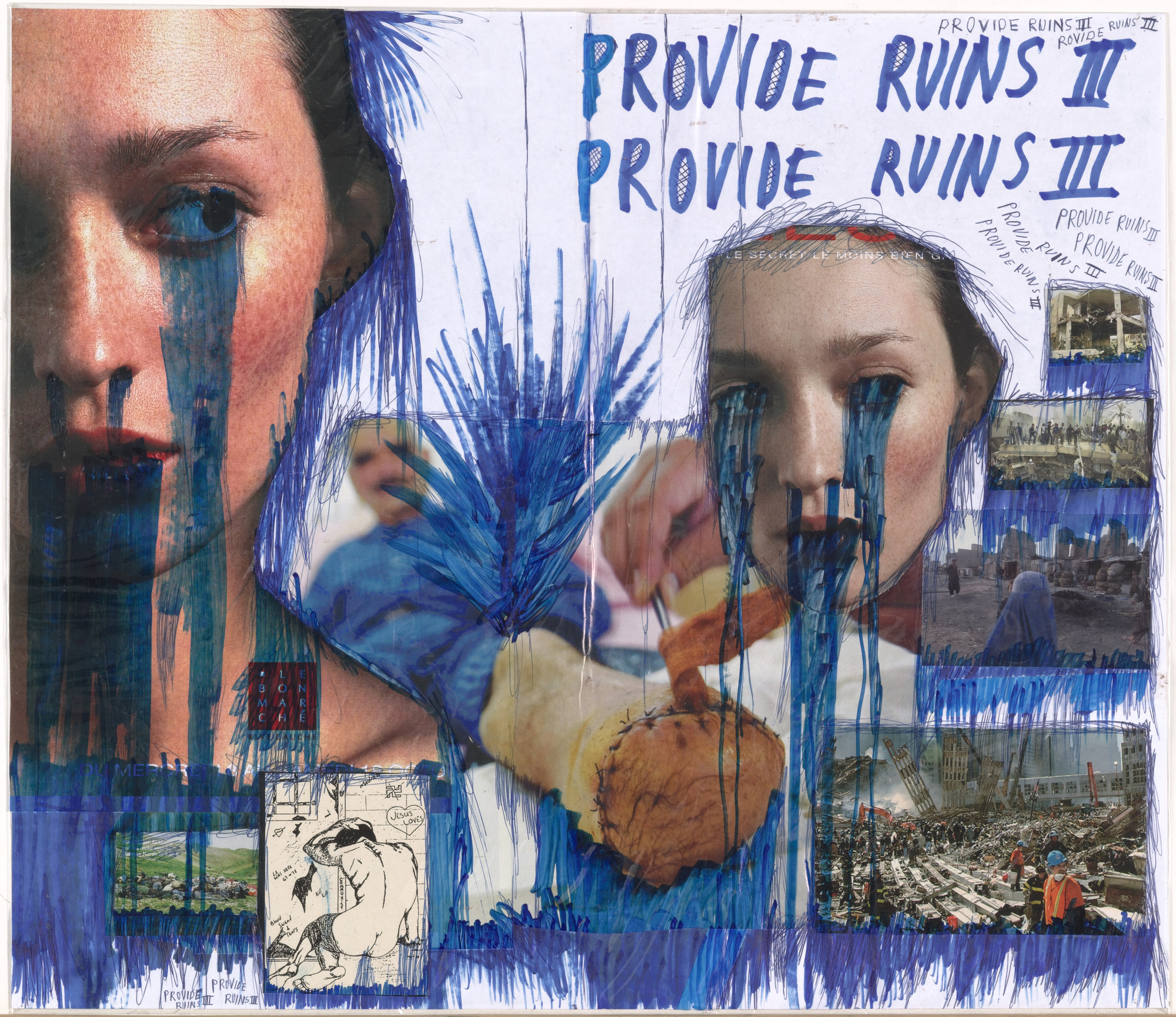 Thomas Hirschhorn. Provide Ruins III. 2003