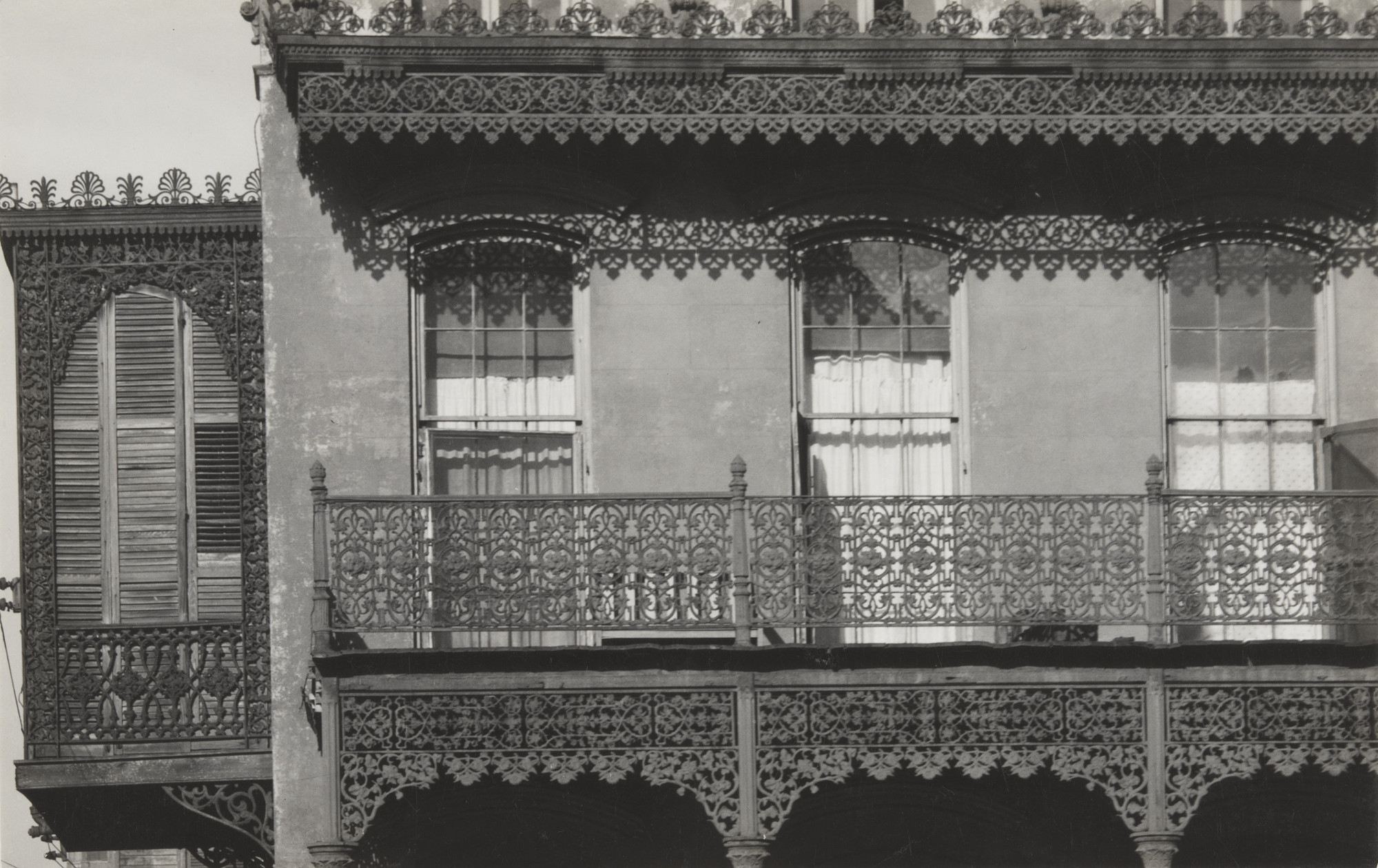 Walker Evans. House in New Orleans. 1935