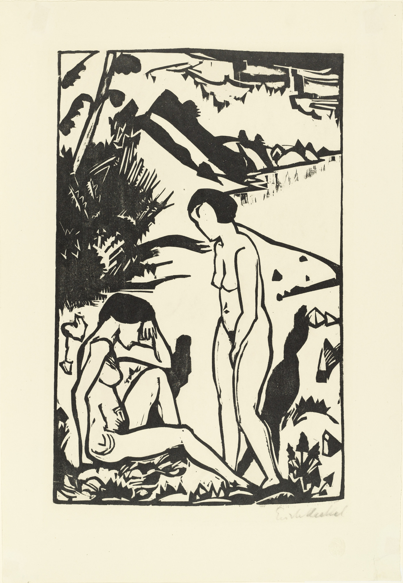 modernism erich heckel and primitive art essay Historical and cultural context , gauguin and primitive art he insisted that the group, which included erich heckel.