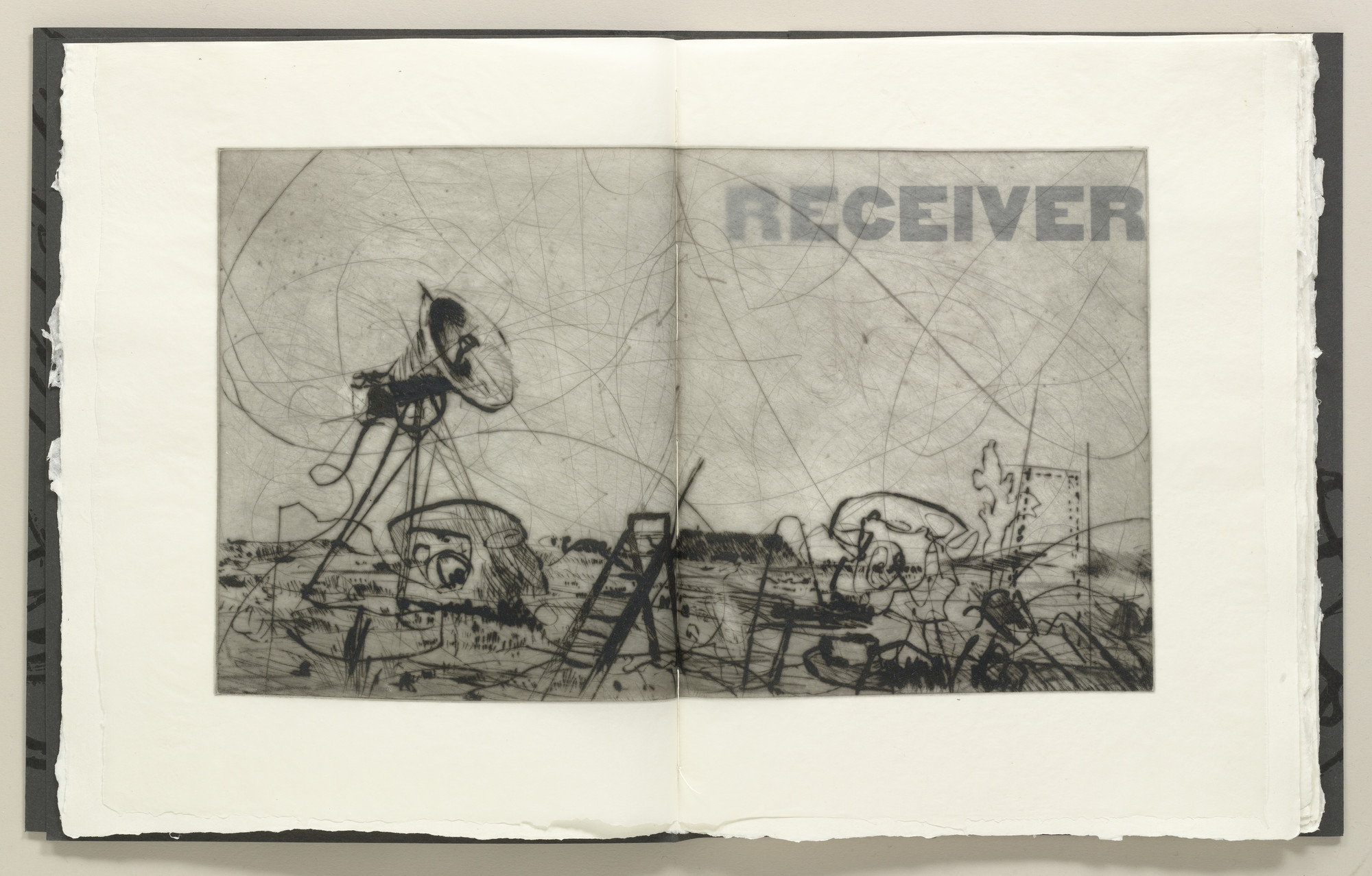 William Kentridge. Receiver. 2006