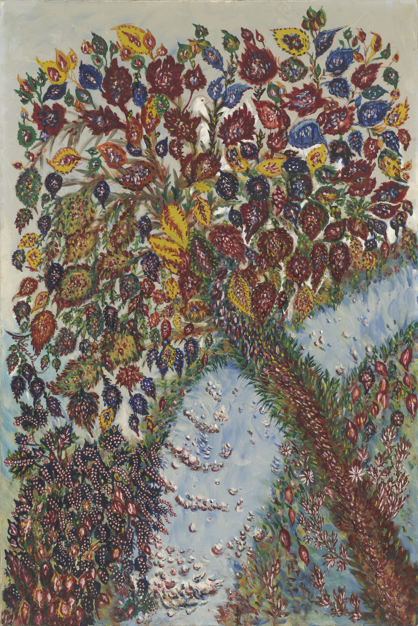 Seraphine Louis Tree Of Paradise C 1928 Moma