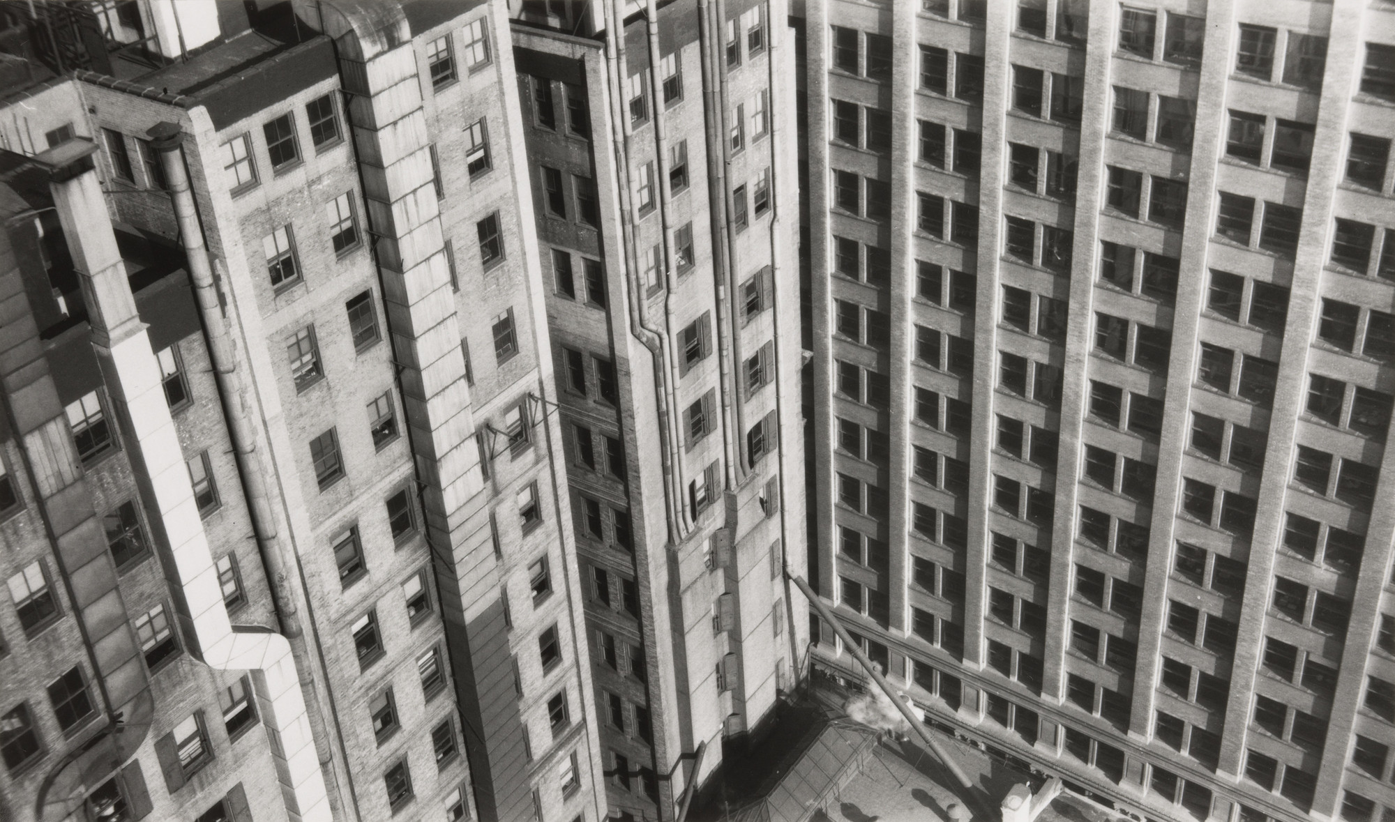 Walker Evans. Skyscrapers, Abstract Detail, New York. 1929