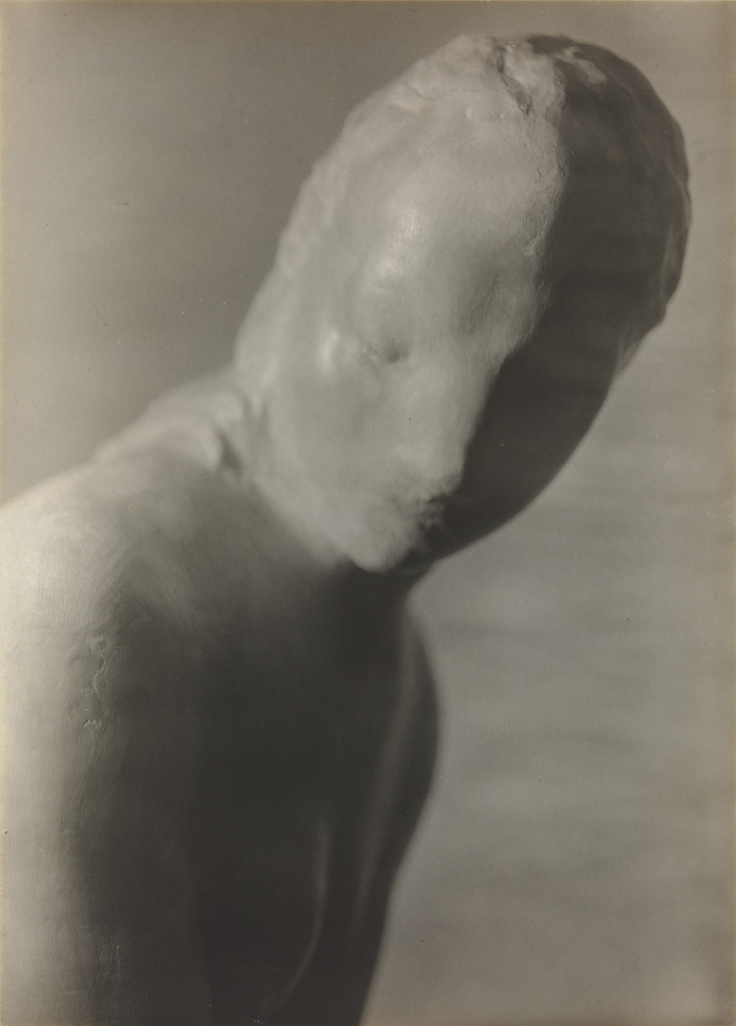 Walker Evans. Lehmbruck: Torso of Woman. c. 1929
