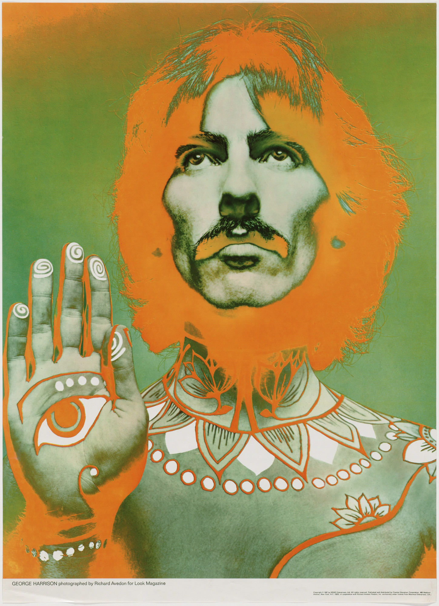 Richard Avedon. George Harrison. 1967