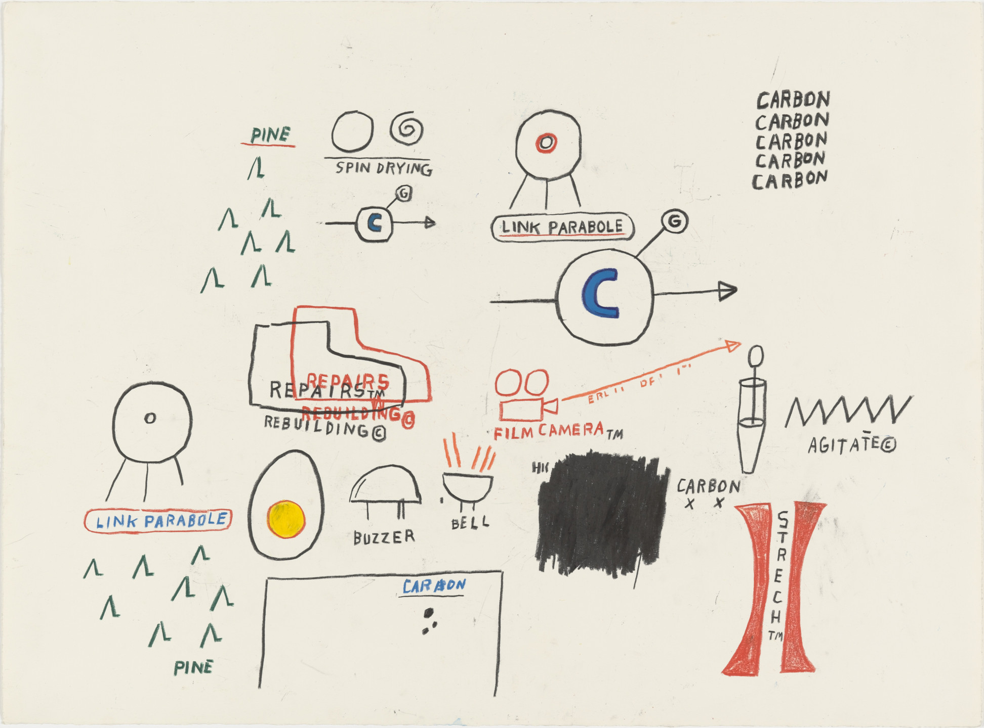 Jean-Michel Basquiat. Untitled. (1985)