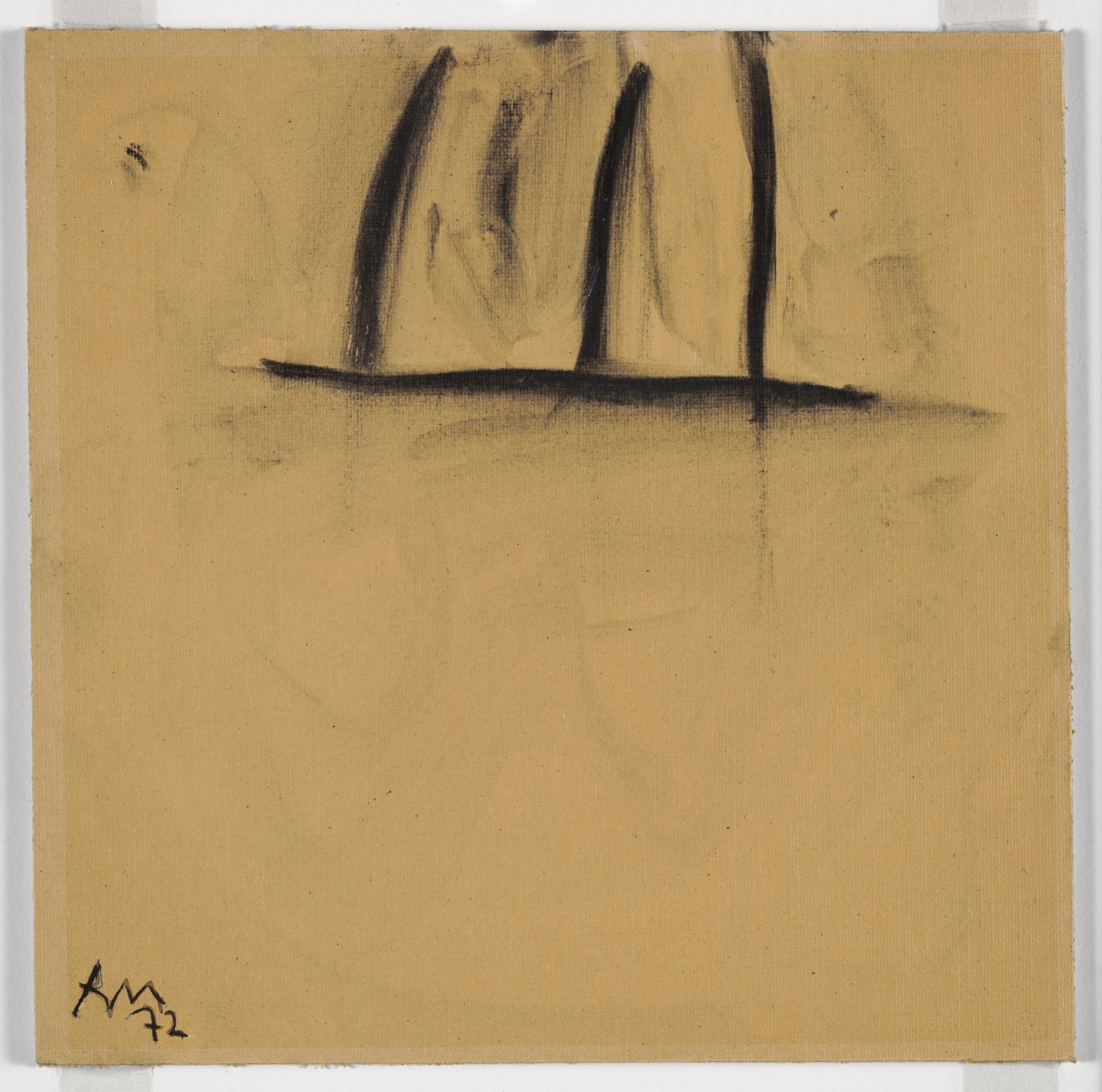 Robert Motherwell. Study for Shem the Penman #10. 1972