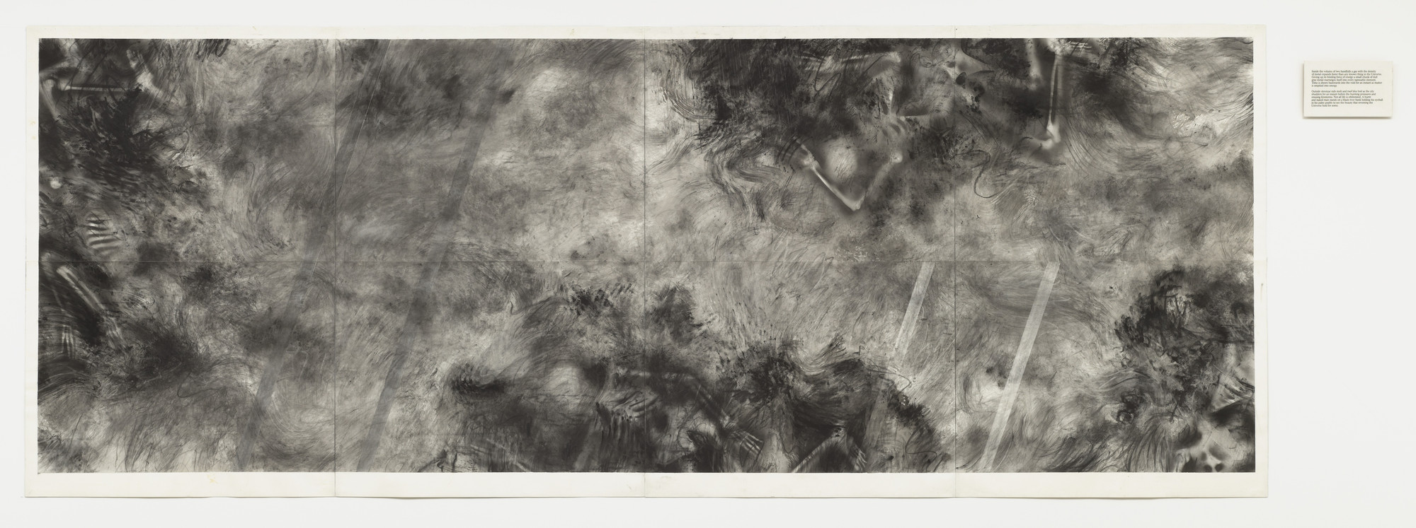 Robert Morris. Untitled from the Firestorm series. 1982