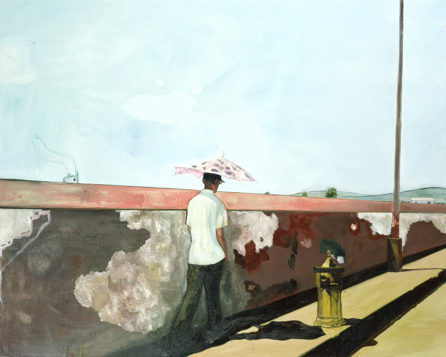 Peter Doig. Lapeyrouse Wall. 2004