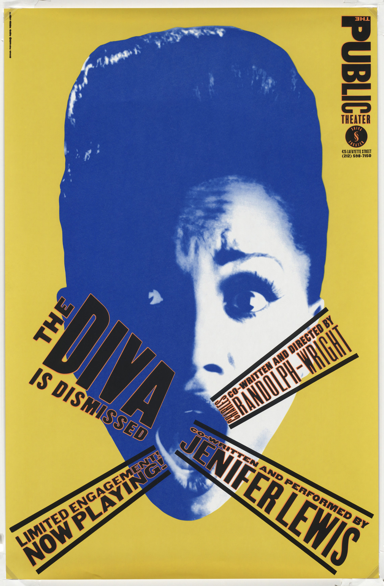 Paula Scher. The Diva is Dismissed. 1994 | MoMA