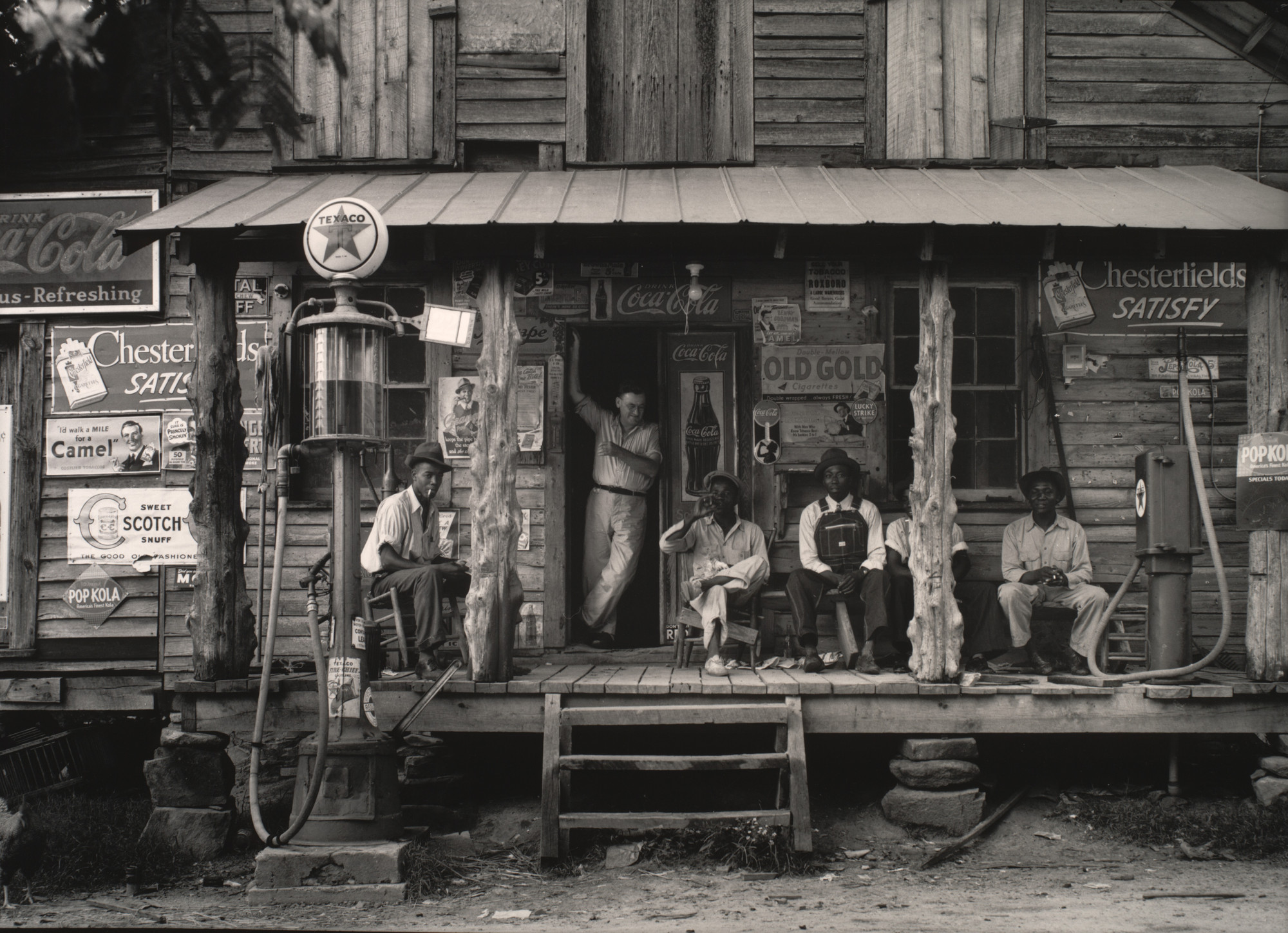Dorothea Lange. Crossroads Store, North Carolina. July 1939