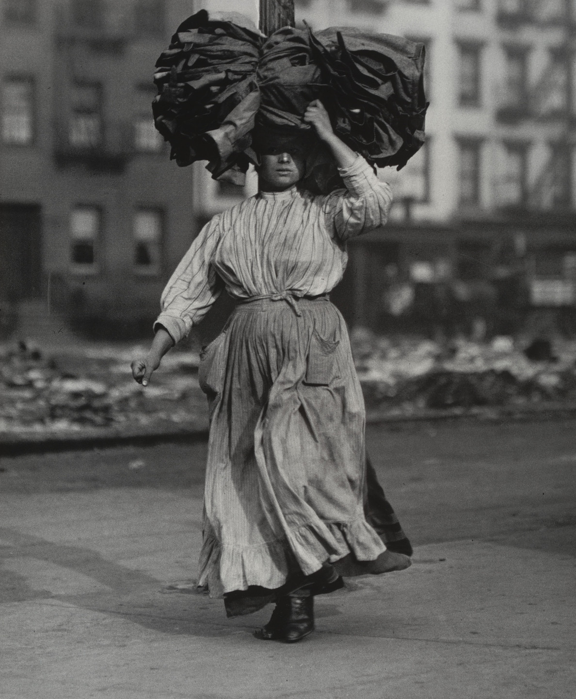 Lewis W. Hine. On the Bowery, New York City. 1909