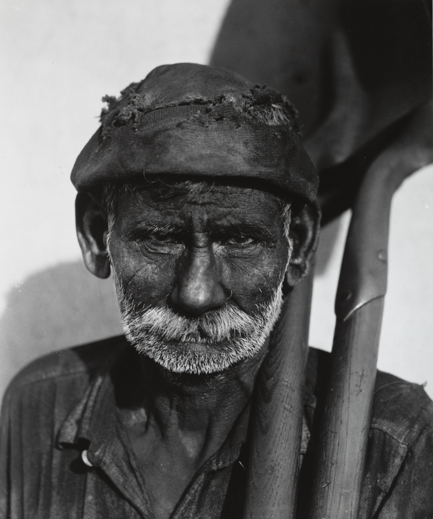 Walker Evans. Coal Dock Worker. 1932