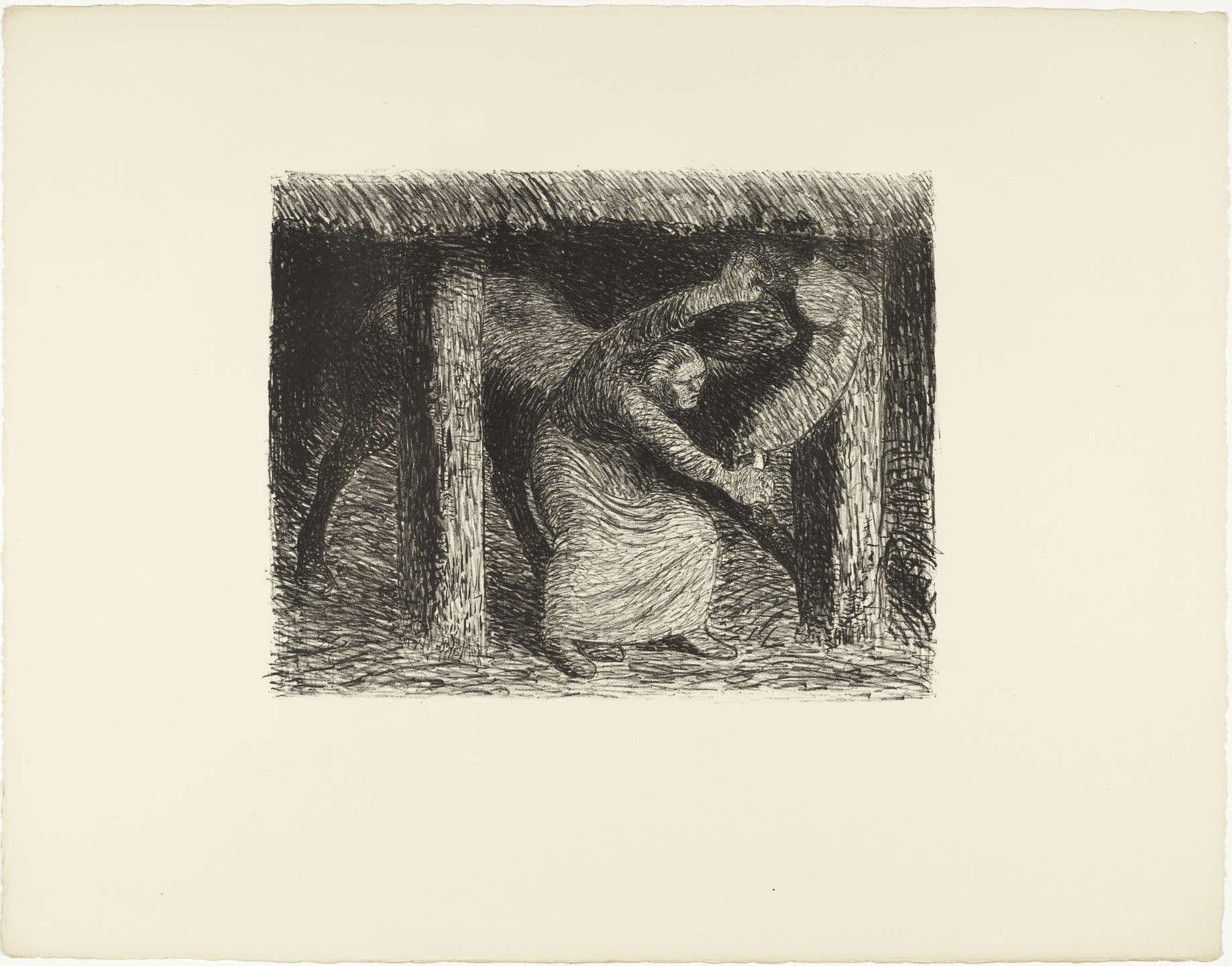 Ernst Barlach. The Murderess (Die Mörderin) The Dead Day (Der tote Tag). (1910-11, published 1912)