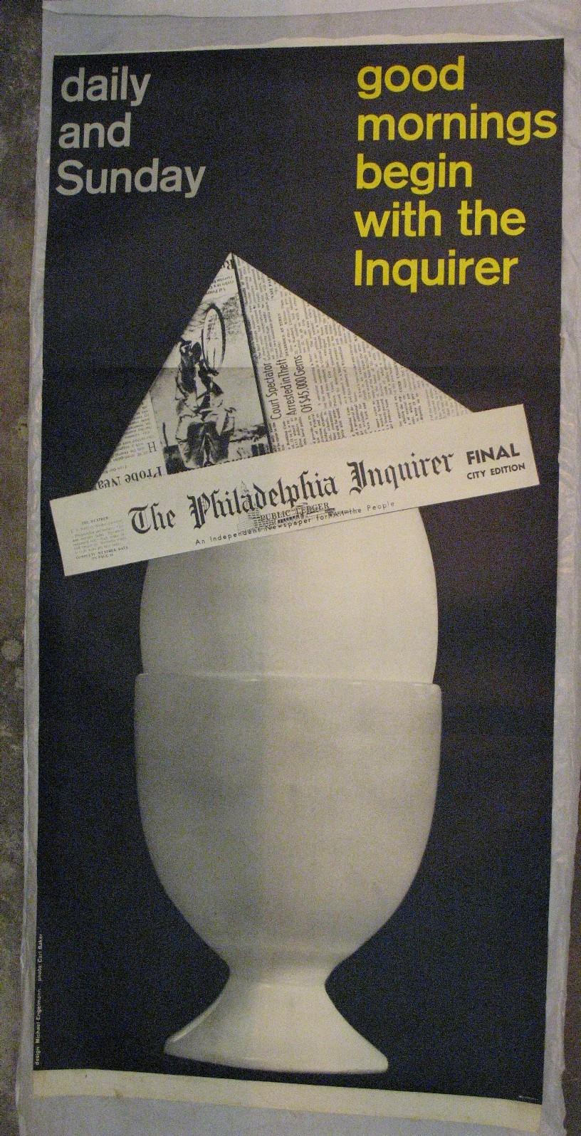 Michael Engelmann, Carl Baker. Good Mornings Begin with the Inquirer. 1958