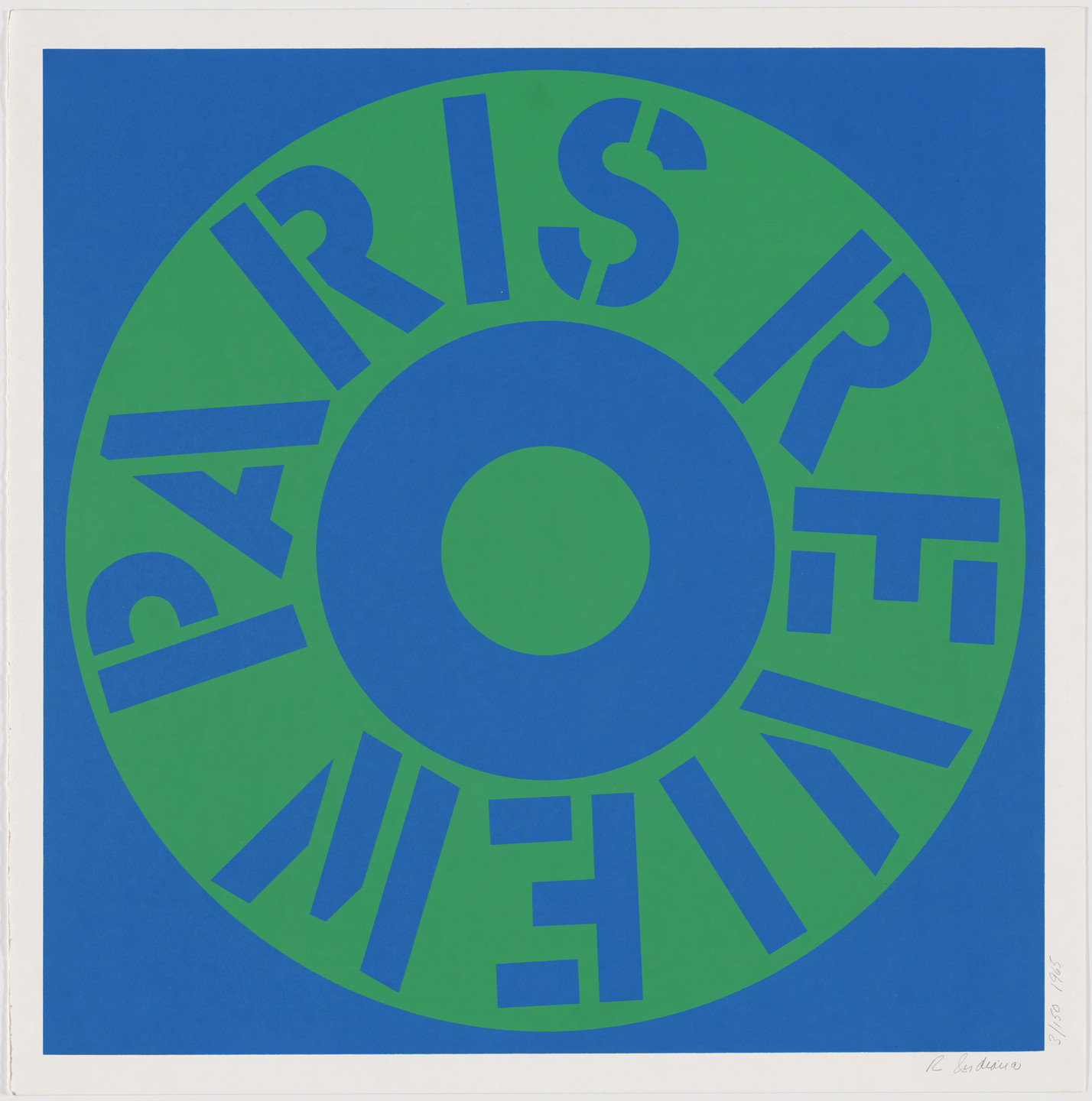 Robert Indiana. Paris Review. 1965