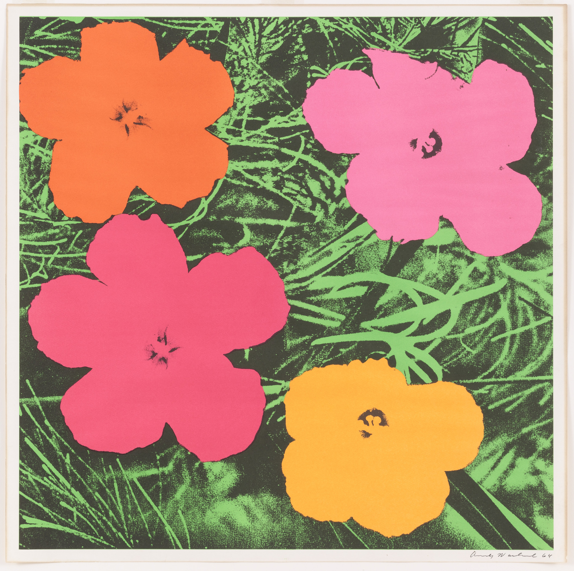 Andy Warhol Flowers 1964 Moma