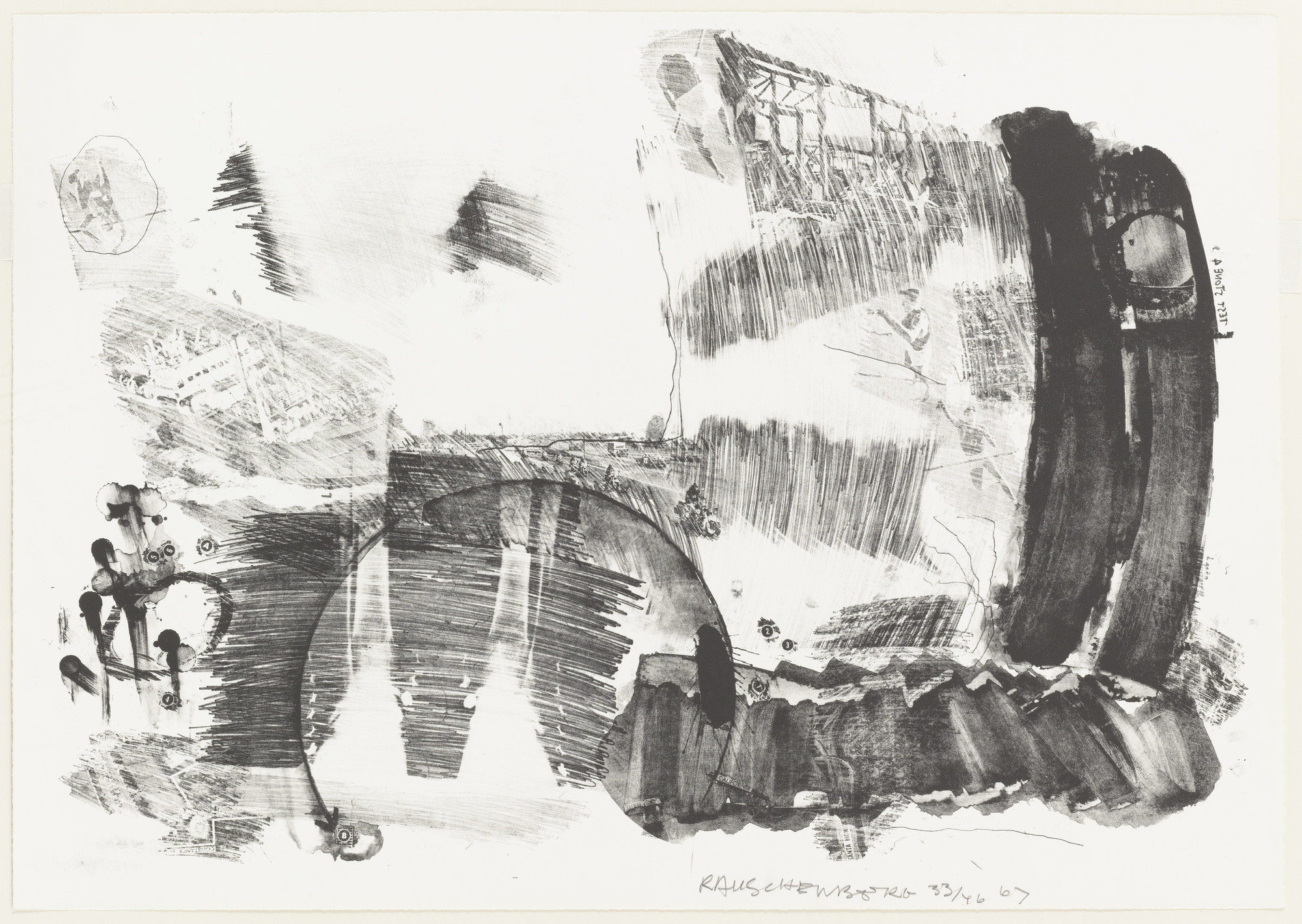 Robert Rauschenberg. Test Stone #4 from Booster and 7 Studies. 1967