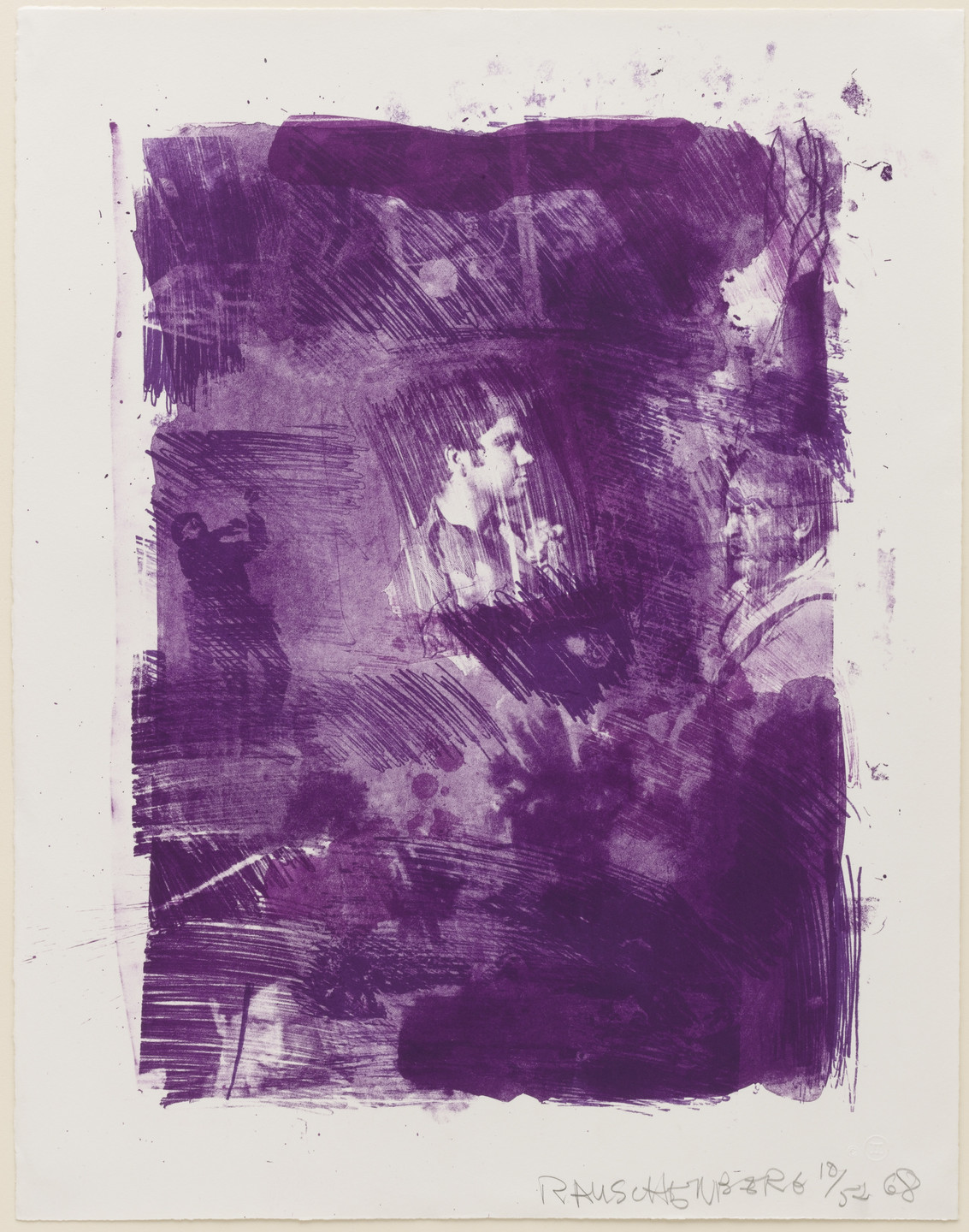 Robert Rauschenberg. Flower Re-Run from the series Reels (B + C). 1968