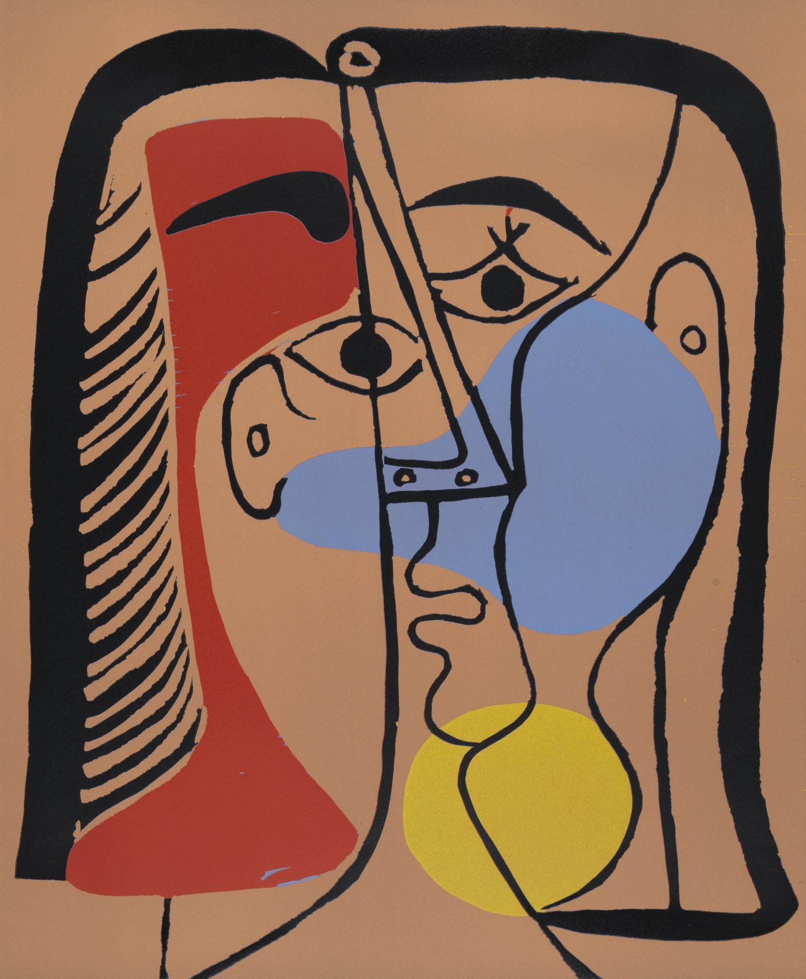 Pablo Picasso. Portrait of Jacqueline with Glossy Hair (Portrait de Jacqueline aux cheveux lisses). 1962, published 1963 | MoMA