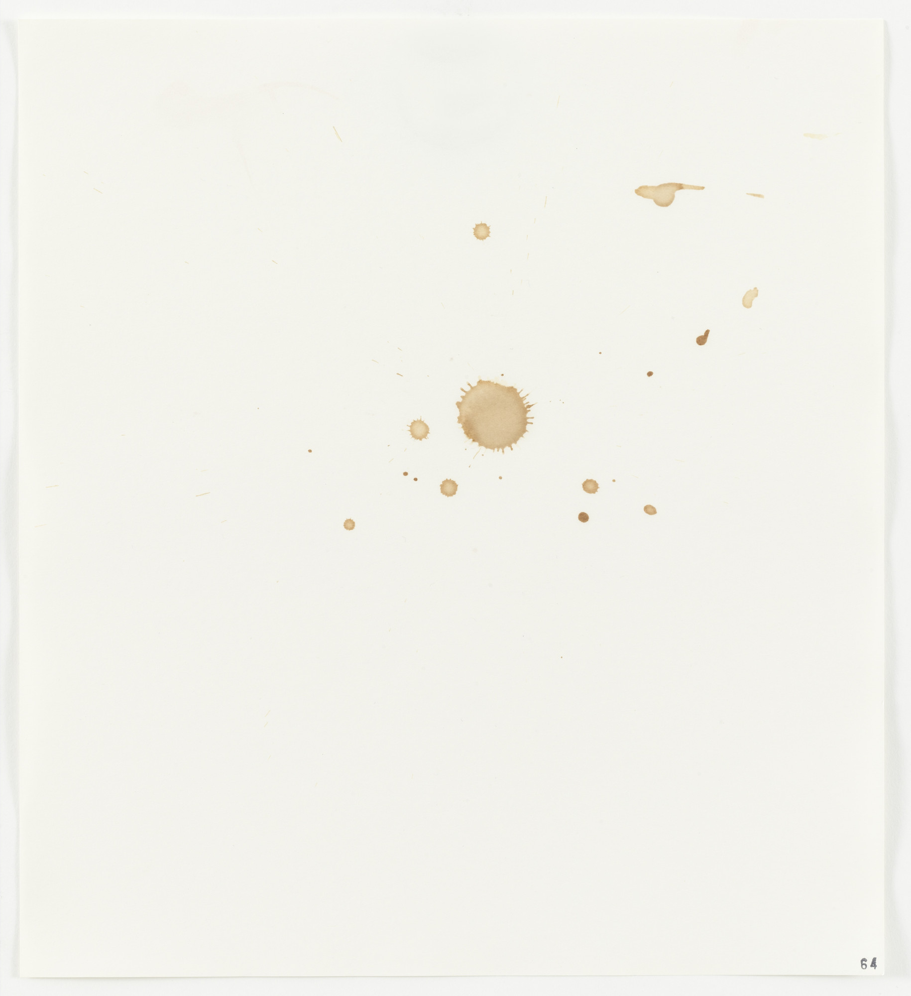 Edward Ruscha. Apple Juice (Tree Top Pure) from Stains. 1969