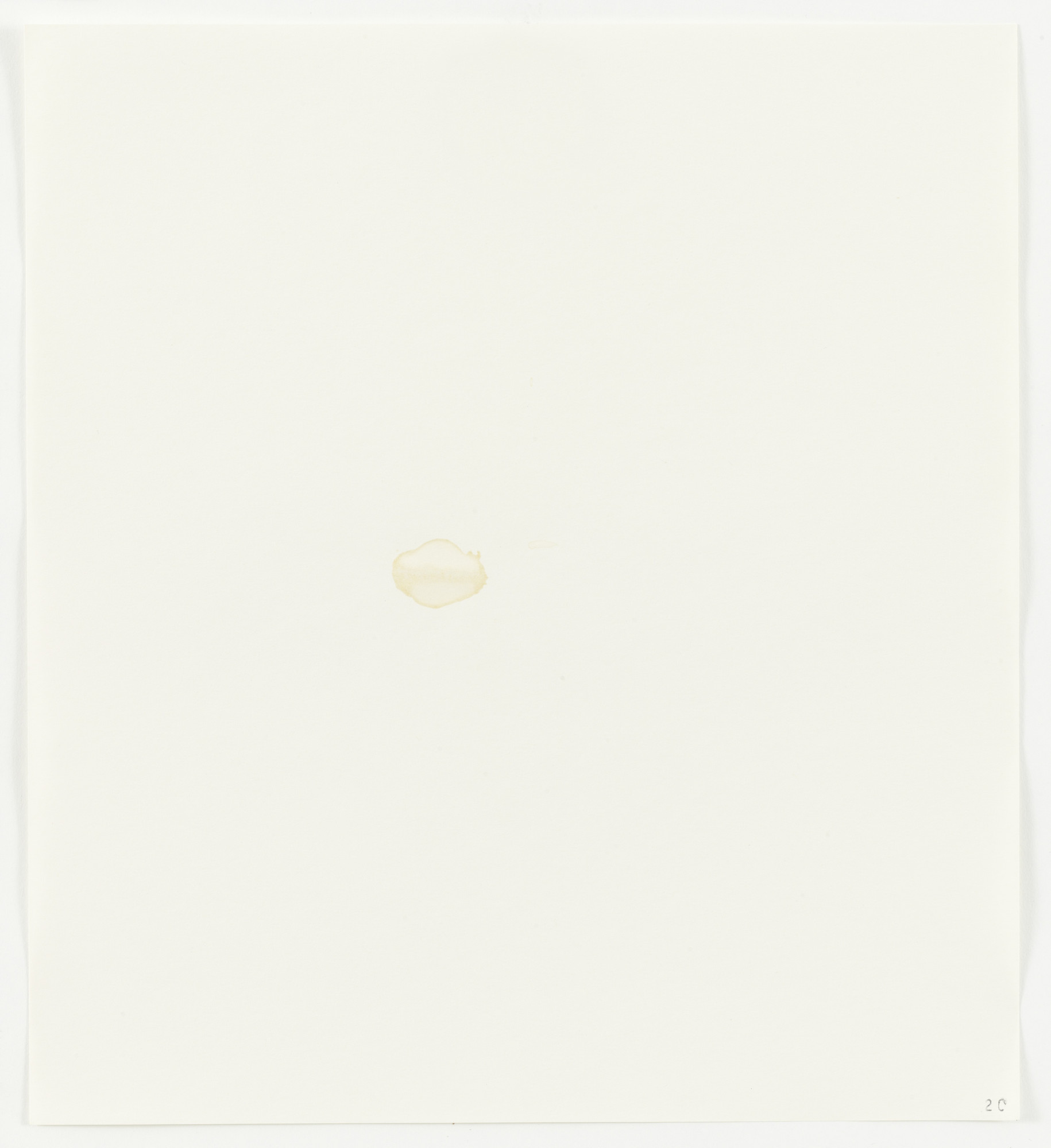 Edward Ruscha. Beer (Coors) from Stains. 1969