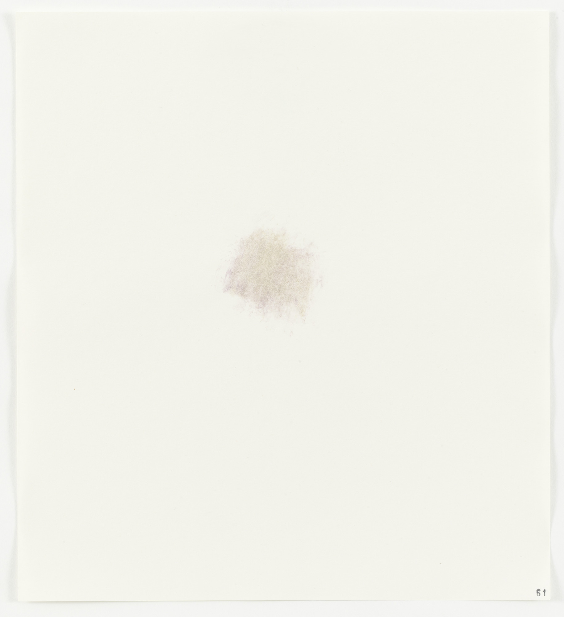 Edward Ruscha. Cabbage (Red) from Stains. 1969