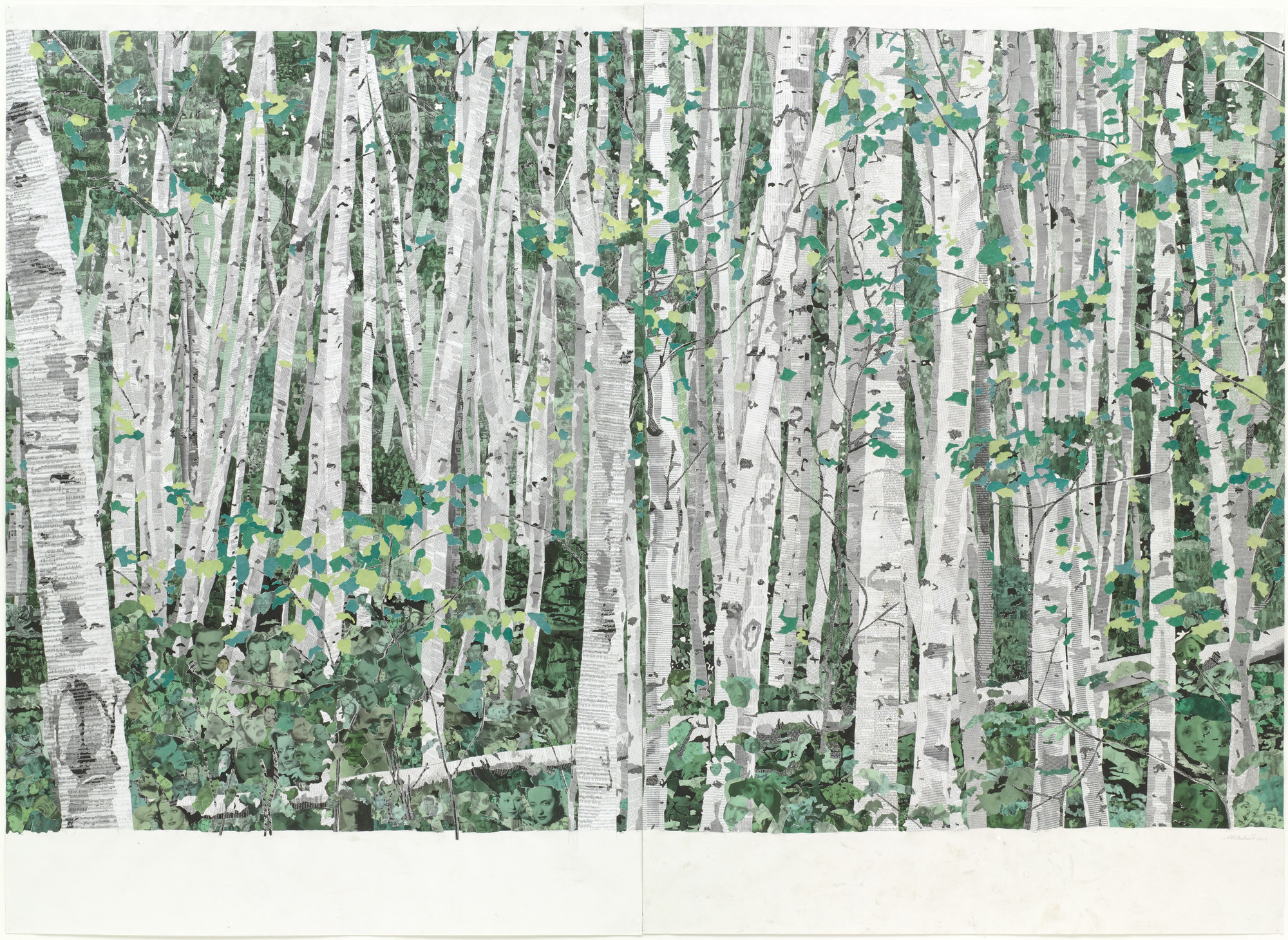 Marcel Odenbach. You Can't See the Forest for the Trees. 2003