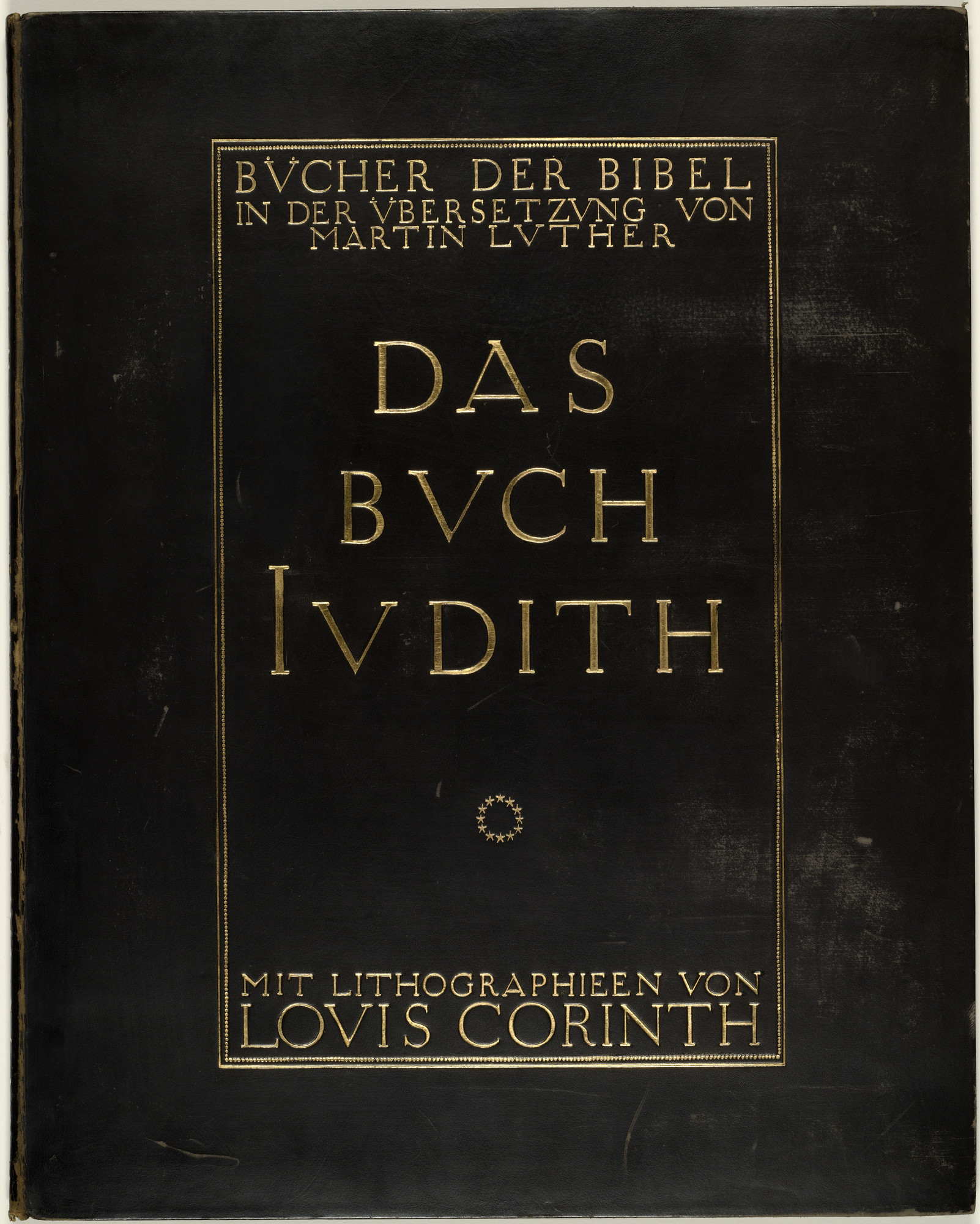 Lovis Corinth. Das Buch Judith (The Book of Judith). 1910 (prints executed 1909)