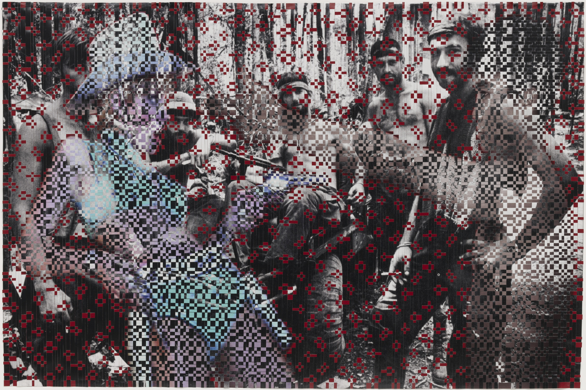 Dinh Q. Lê. Untitled (Soldiers at Rest). (2003)