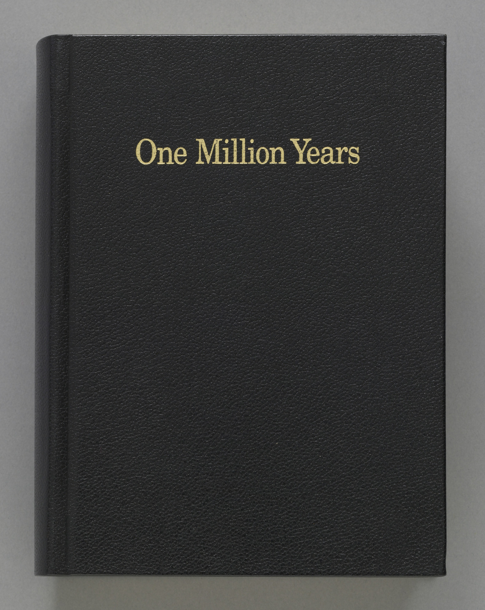 On Kawara. One Million Years. 1999
