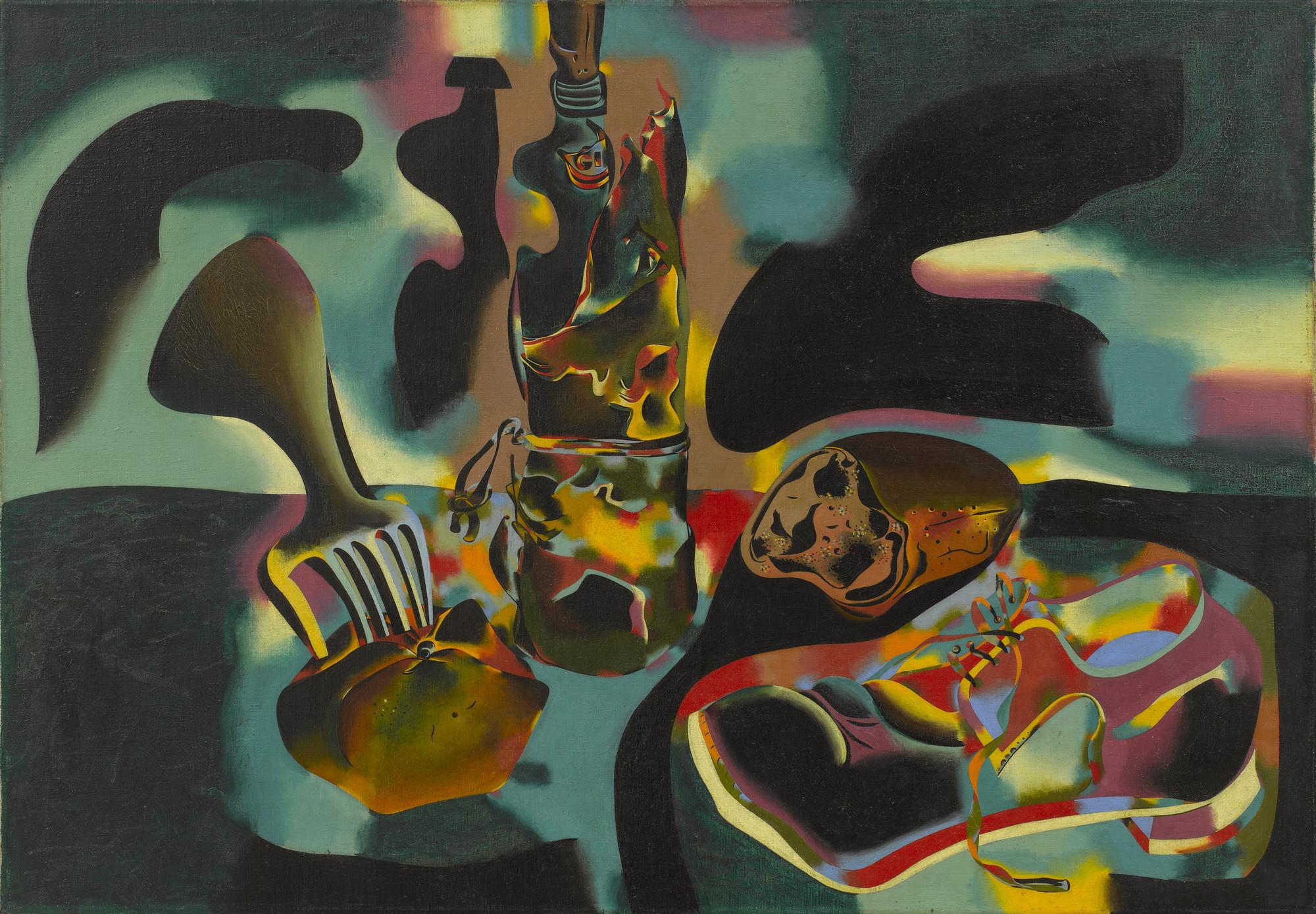 Joan Miró. Still Life with Old Shoe. Paris, January 24-May 29, 1937   MoMA