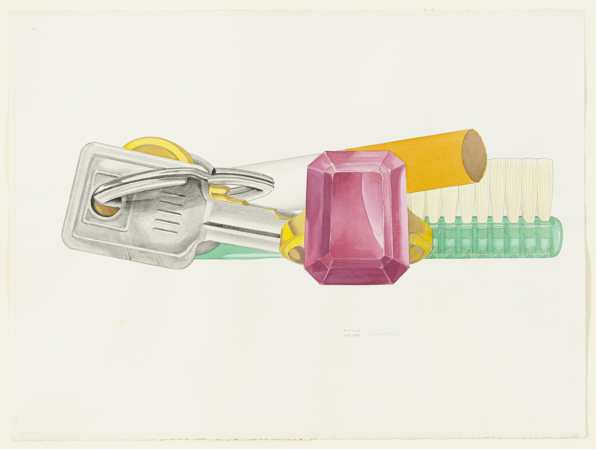 Tom Wesselmann. Study for Still Life, 61. 1975