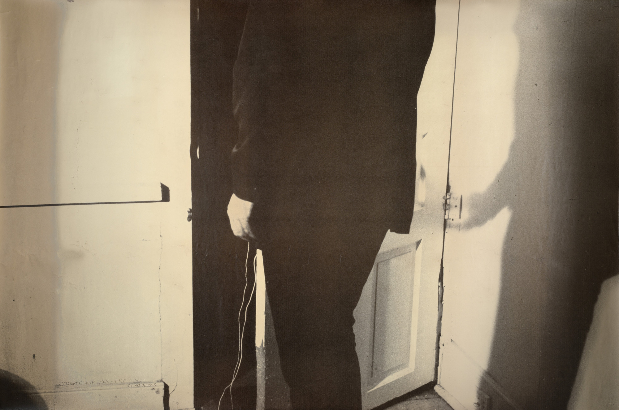 David Askevold. Concert C with Door. 1971