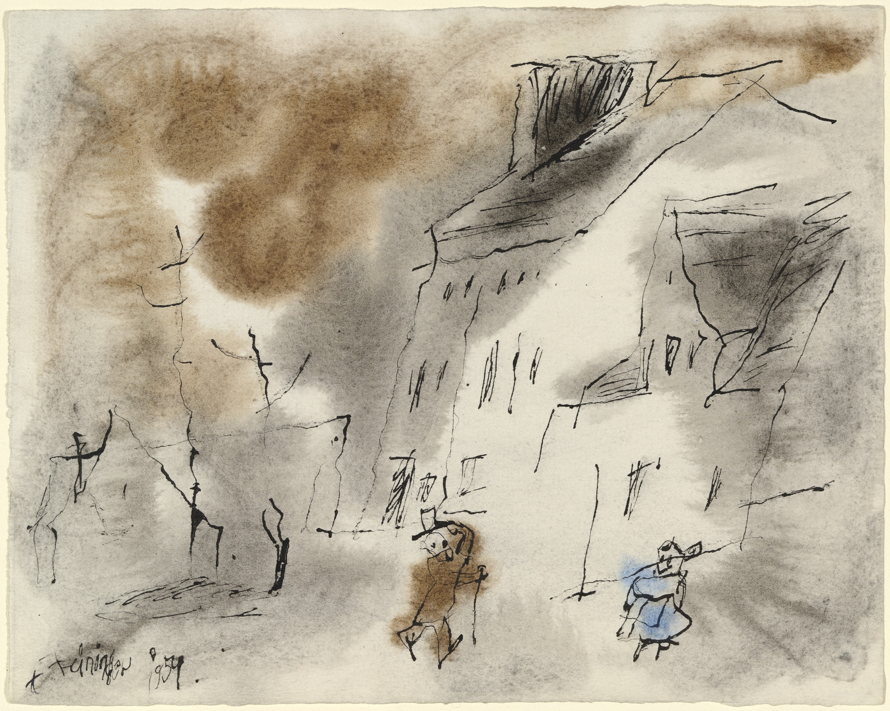 Lyonel Feininger. Untitled. 1954