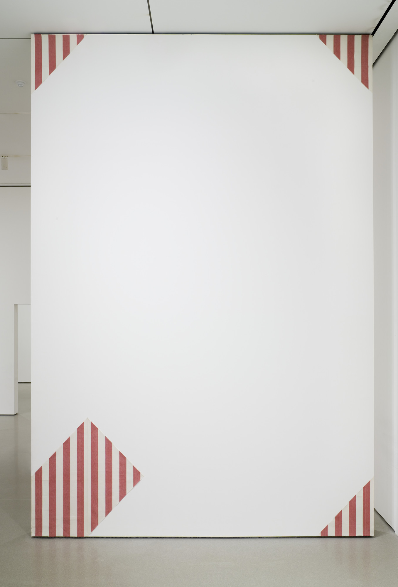 Daniel Buren. One Painting in Four Elements for One Wall. 1969-77